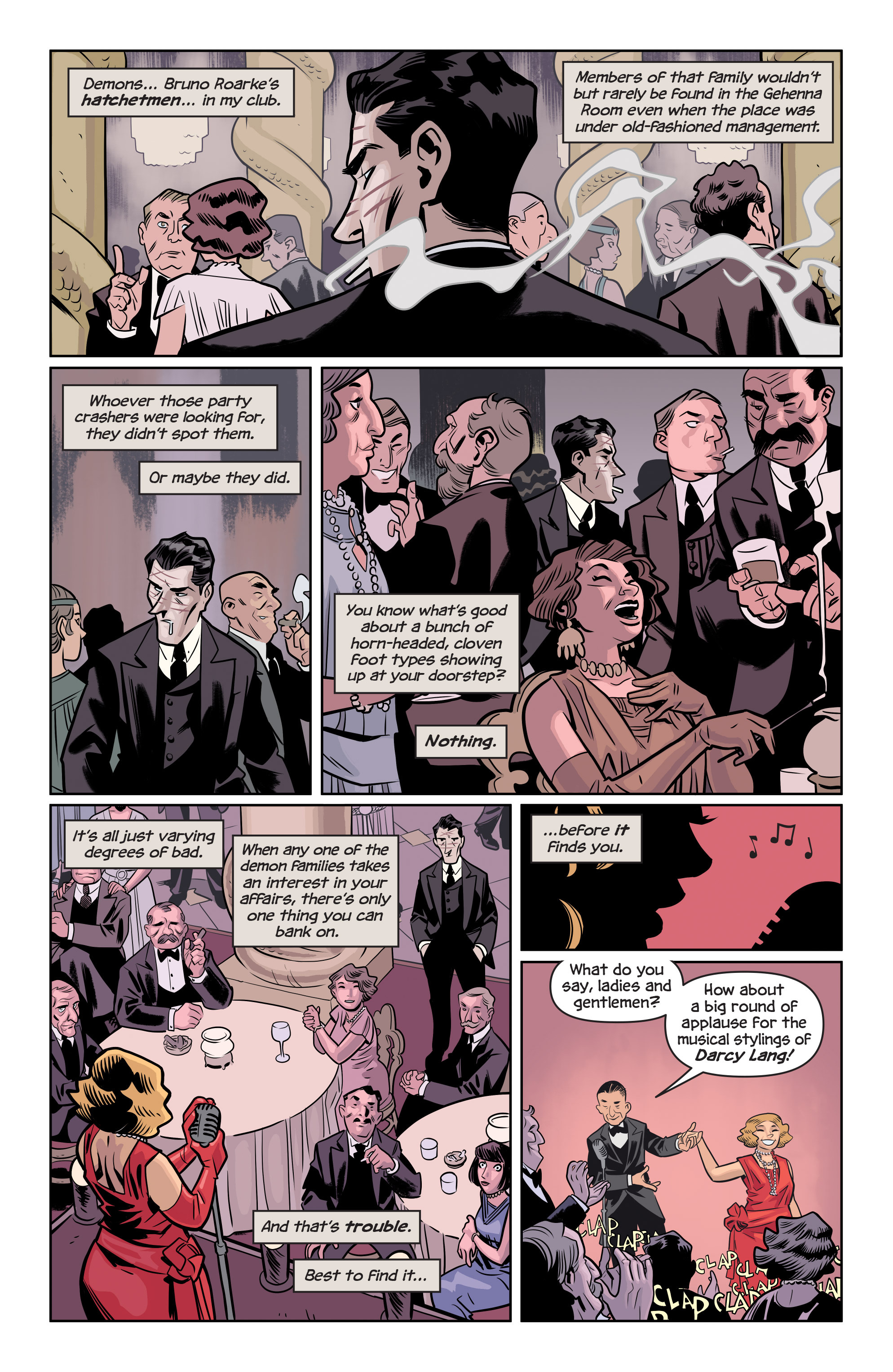 Read online The Damned comic -  Issue #1 - 10
