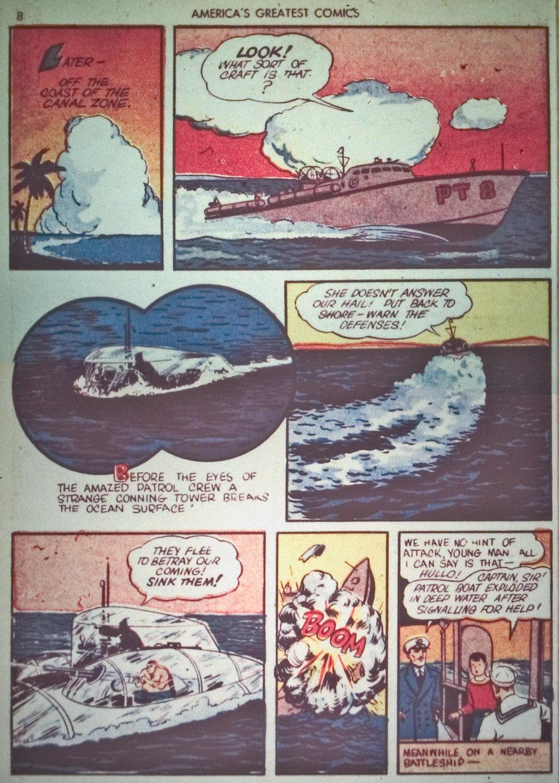 Read online America's Greatest Comics comic -  Issue #1 - 11