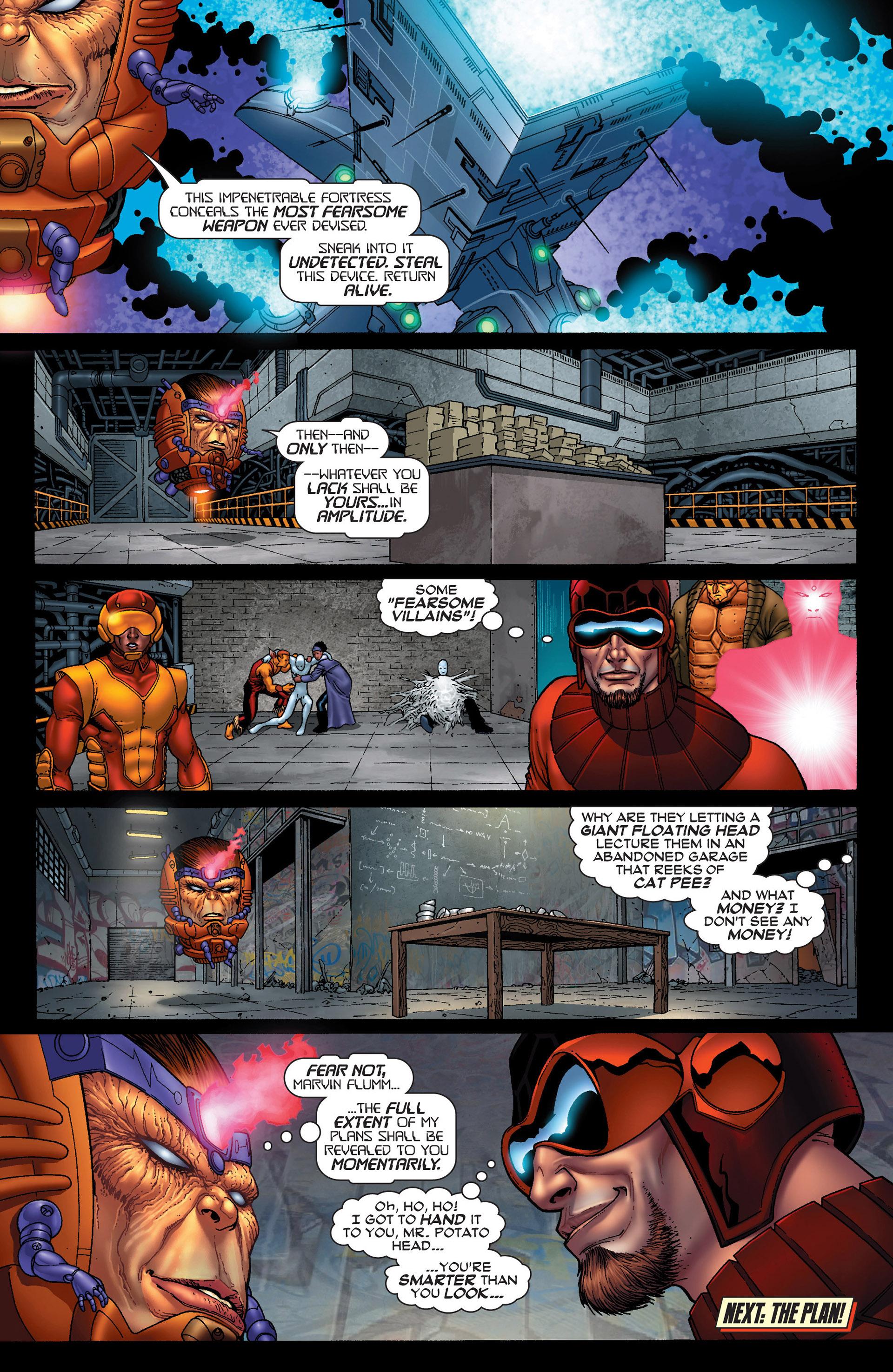 Read online Super-Villain Team-Up/MODOK's 11 comic -  Issue #1 - 23