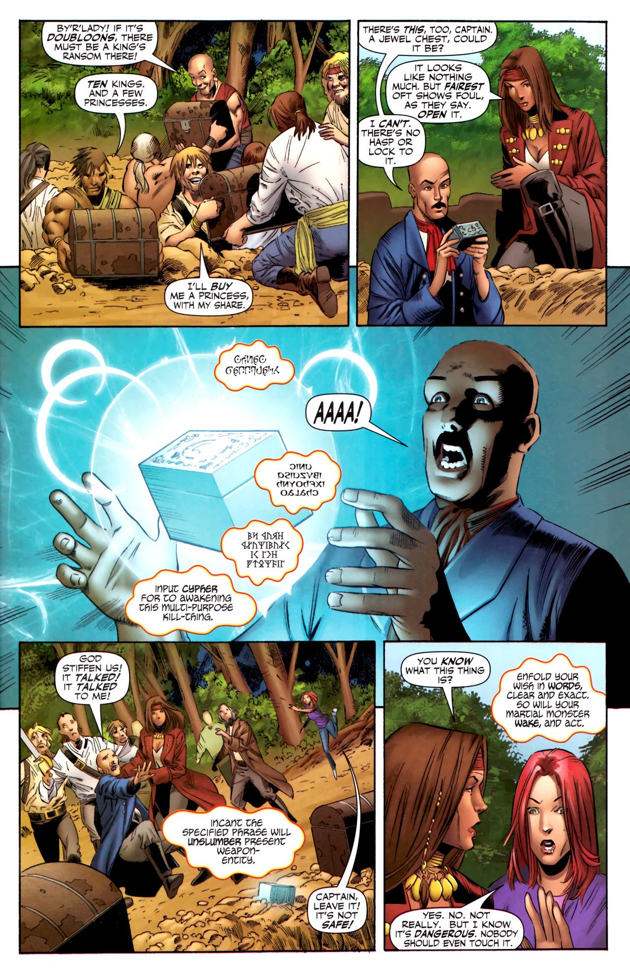 Read online Sigil (2011) comic -  Issue #3 - 20