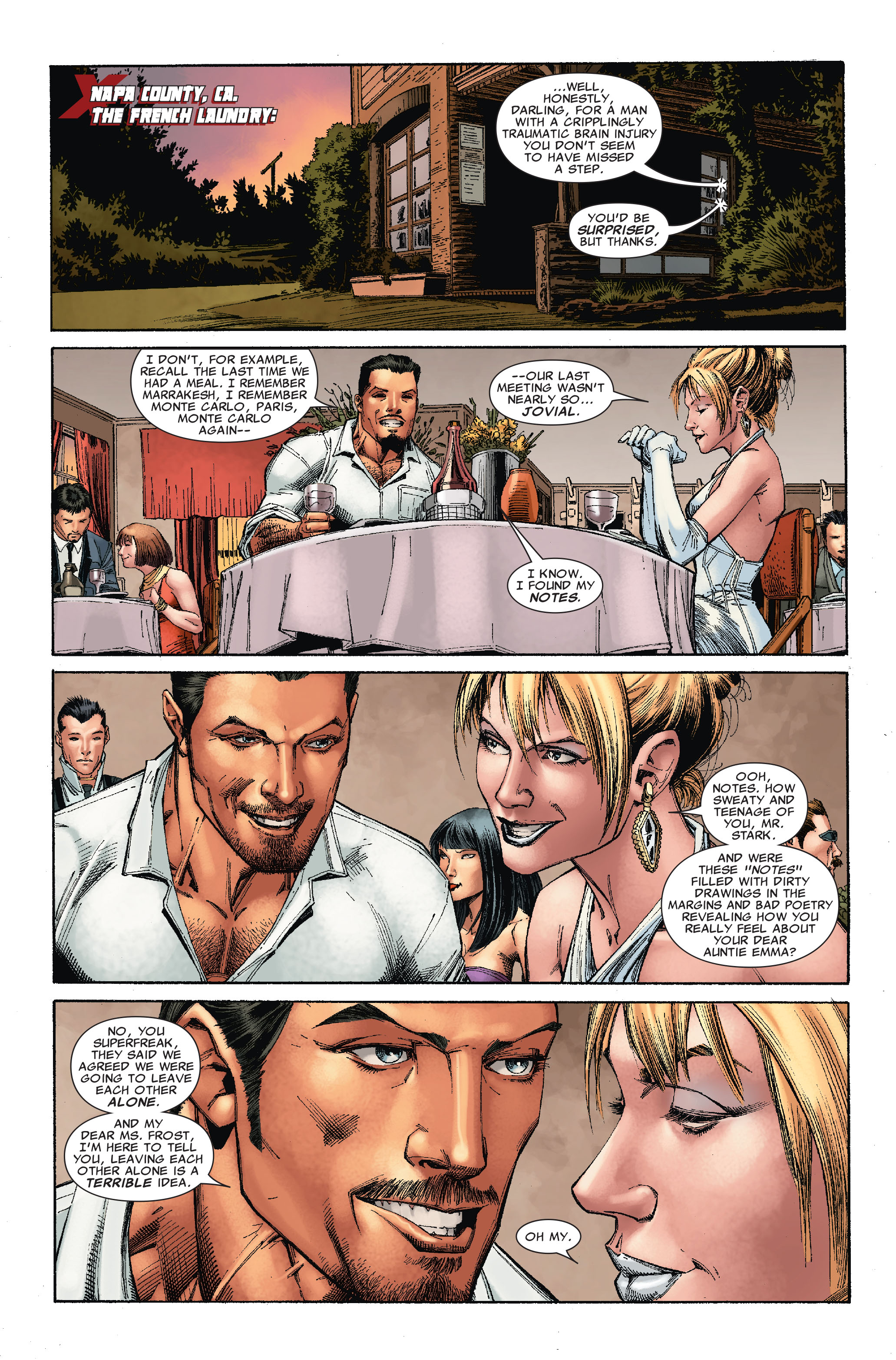 Read online Uncanny X-Men (1963) comic -  Issue #527 - 5