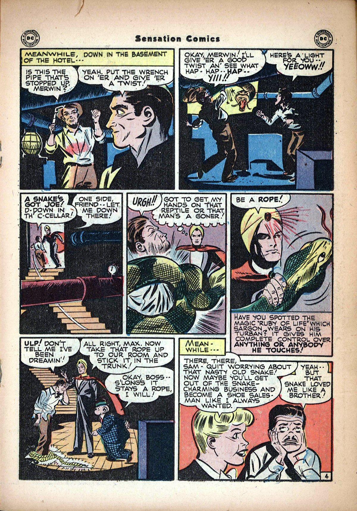 Read online Sensation (Mystery) Comics comic -  Issue #62 - 27