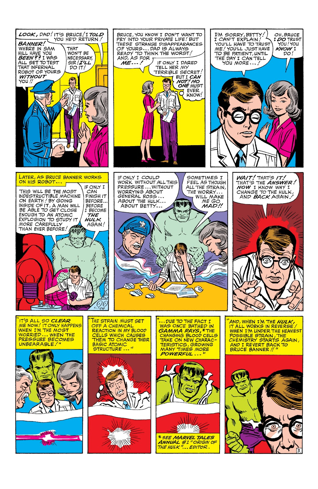 Read online Marvel Masterworks: The Incredible Hulk comic -  Issue # TPB 2 (Part 1) - 26