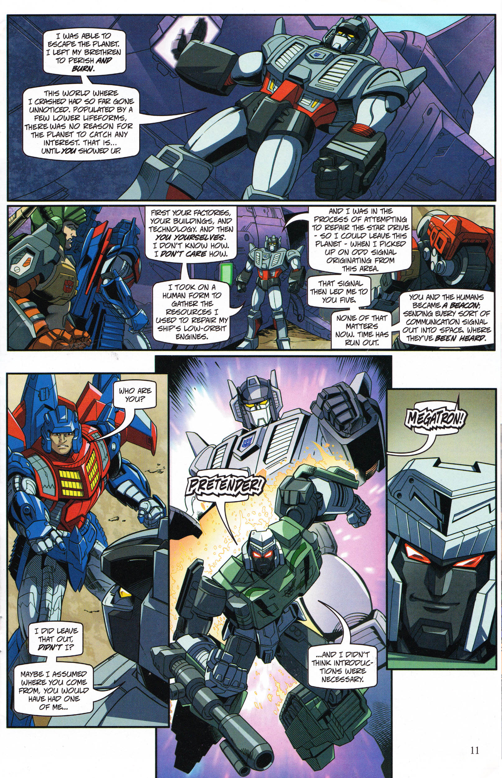 Read online Transformers: Collectors' Club comic -  Issue #69 - 11