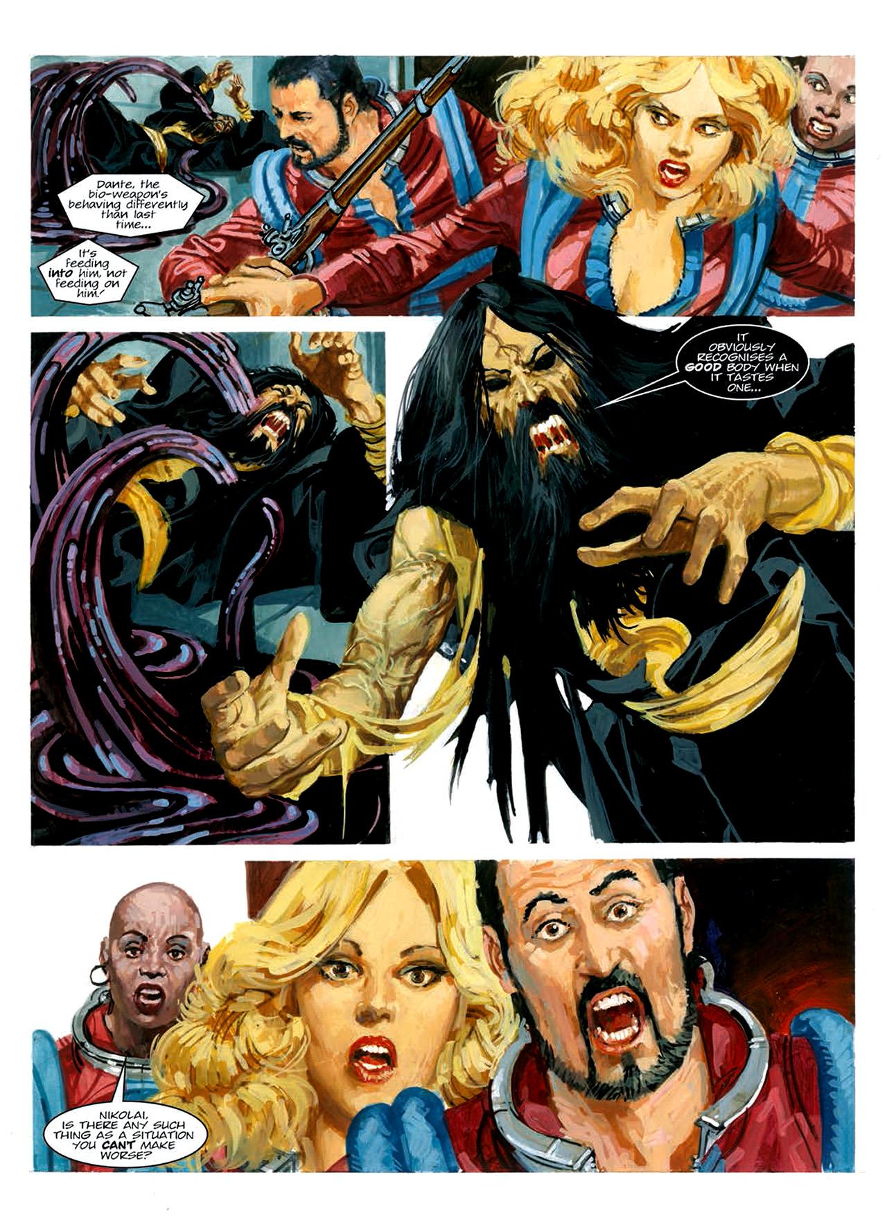 Read online Nikolai Dante comic -  Issue # TPB 6 - 191