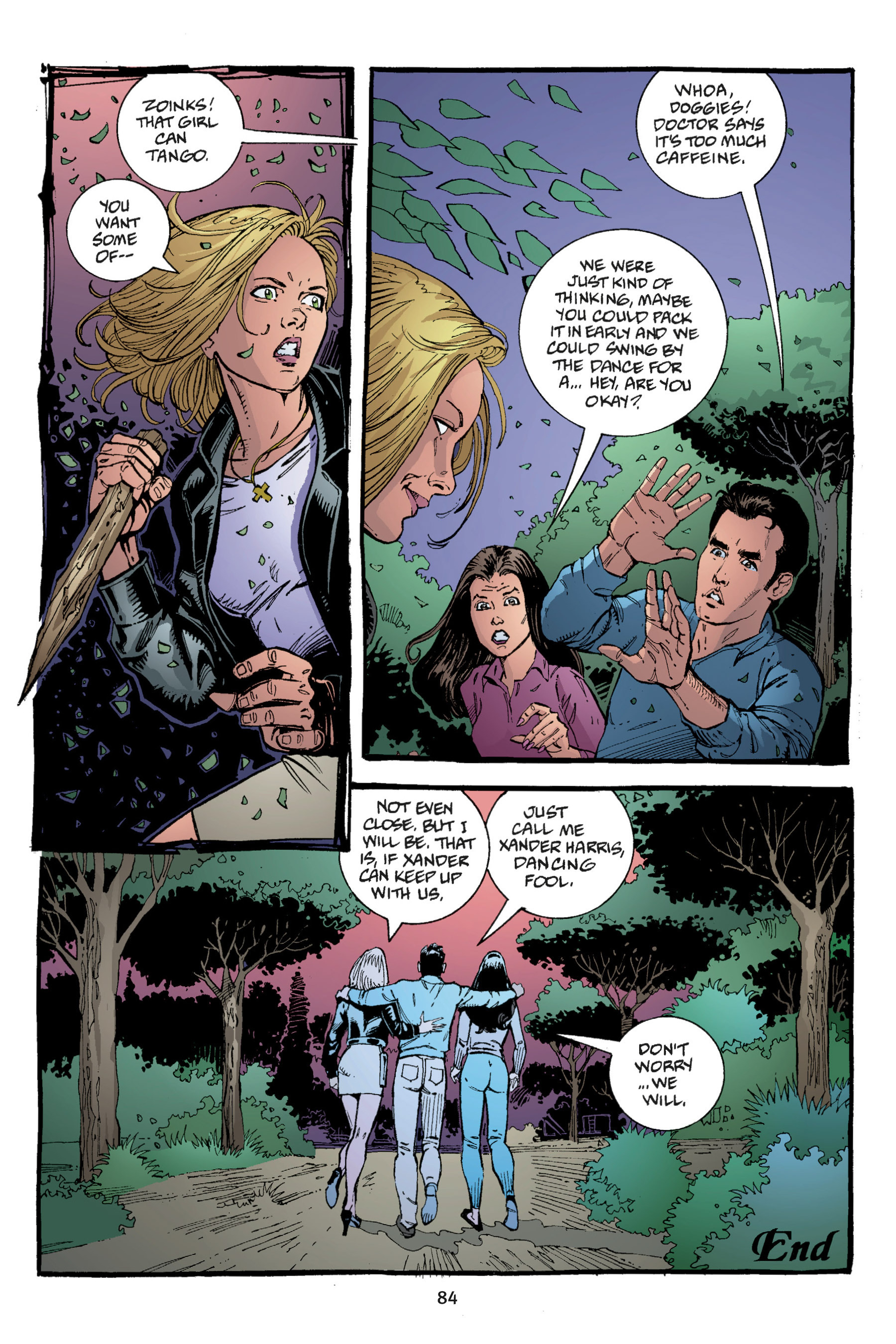 Read online Buffy the Vampire Slayer: Omnibus comic -  Issue # TPB 3 - 82