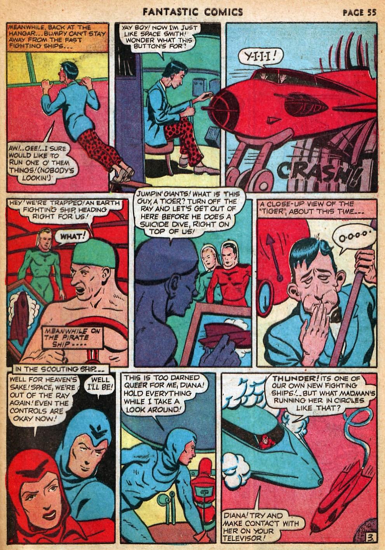 Read online Fantastic Comics comic -  Issue #22 - 56