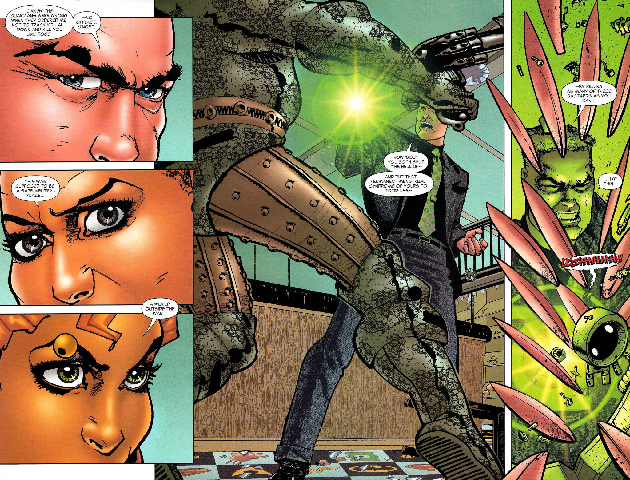 Read online Guy Gardner: Collateral Damage comic -  Issue #1 - 41