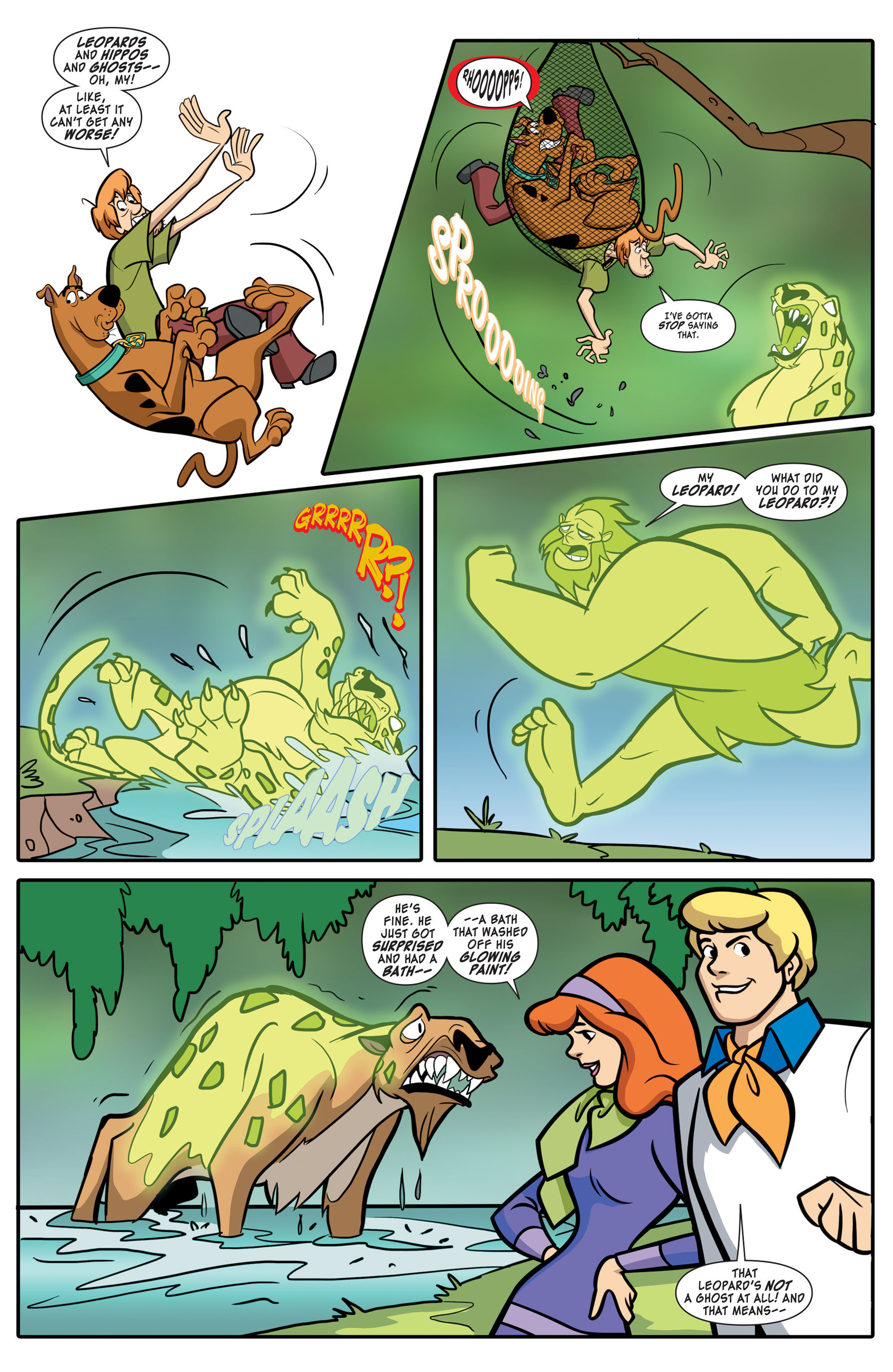 Read online Scooby-Doo: Where Are You? comic -  Issue #43 - 9