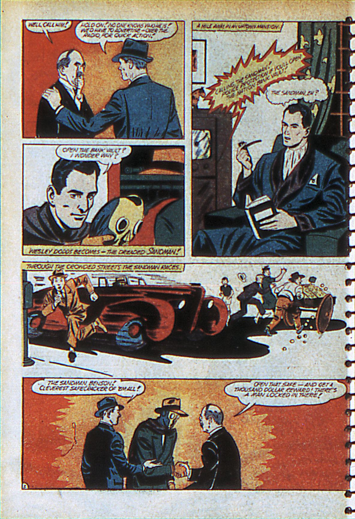 Read online Adventure Comics (1938) comic -  Issue #55 - 59