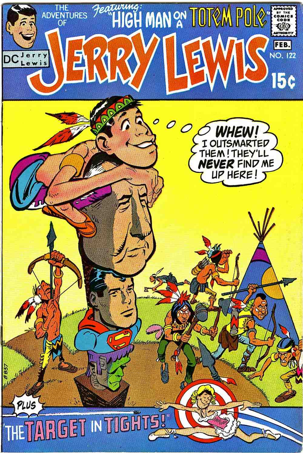 The Adventures of Jerry Lewis 122 Page 1