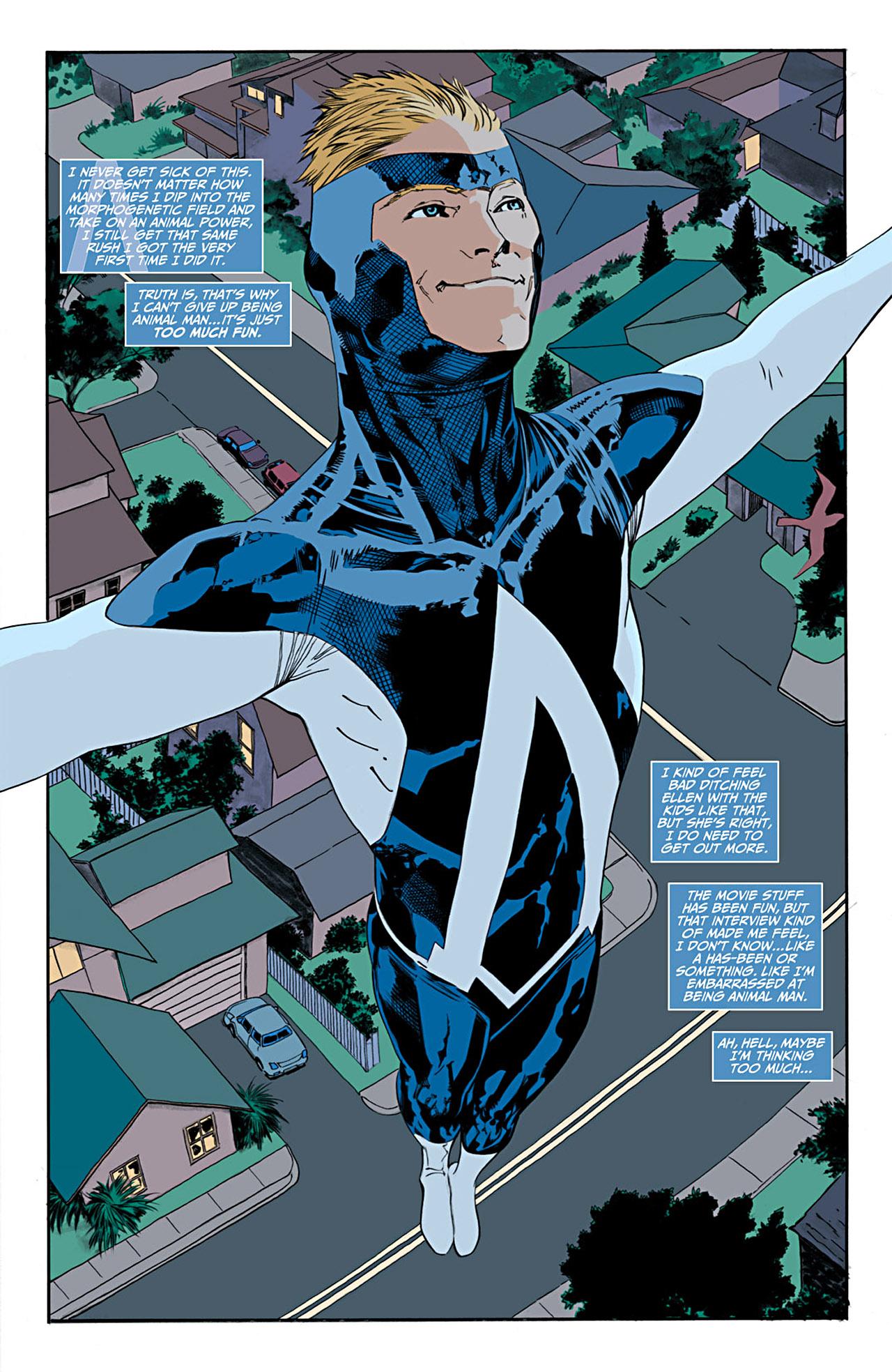 Read online Animal Man (2011) comic -  Issue #1 - 8