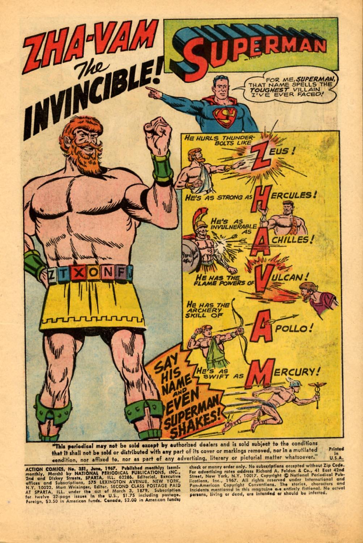Action Comics (1938) 351 Page 2