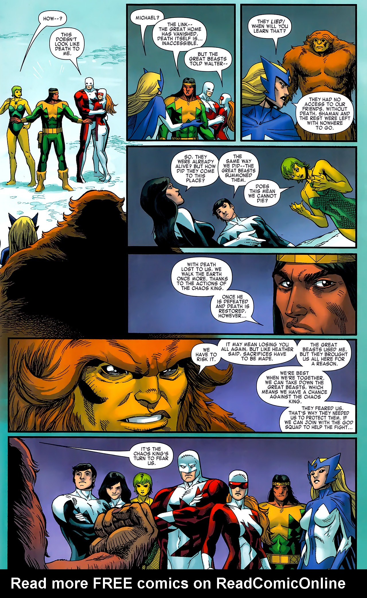 Read online Chaos War: Alpha Flight comic -  Issue # Full - 22
