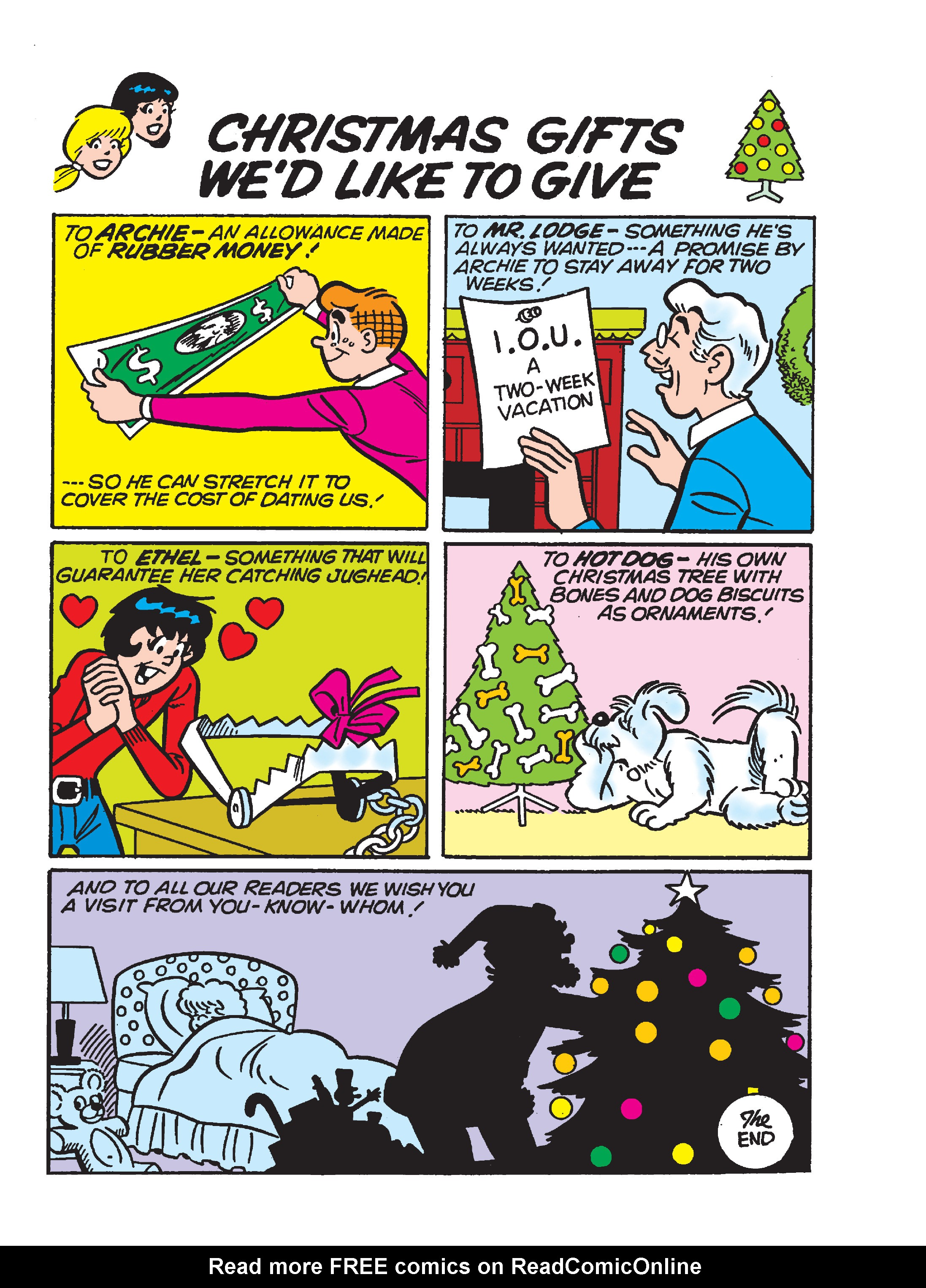 Read online Archie's Funhouse Double Digest comic -  Issue #23 - 34