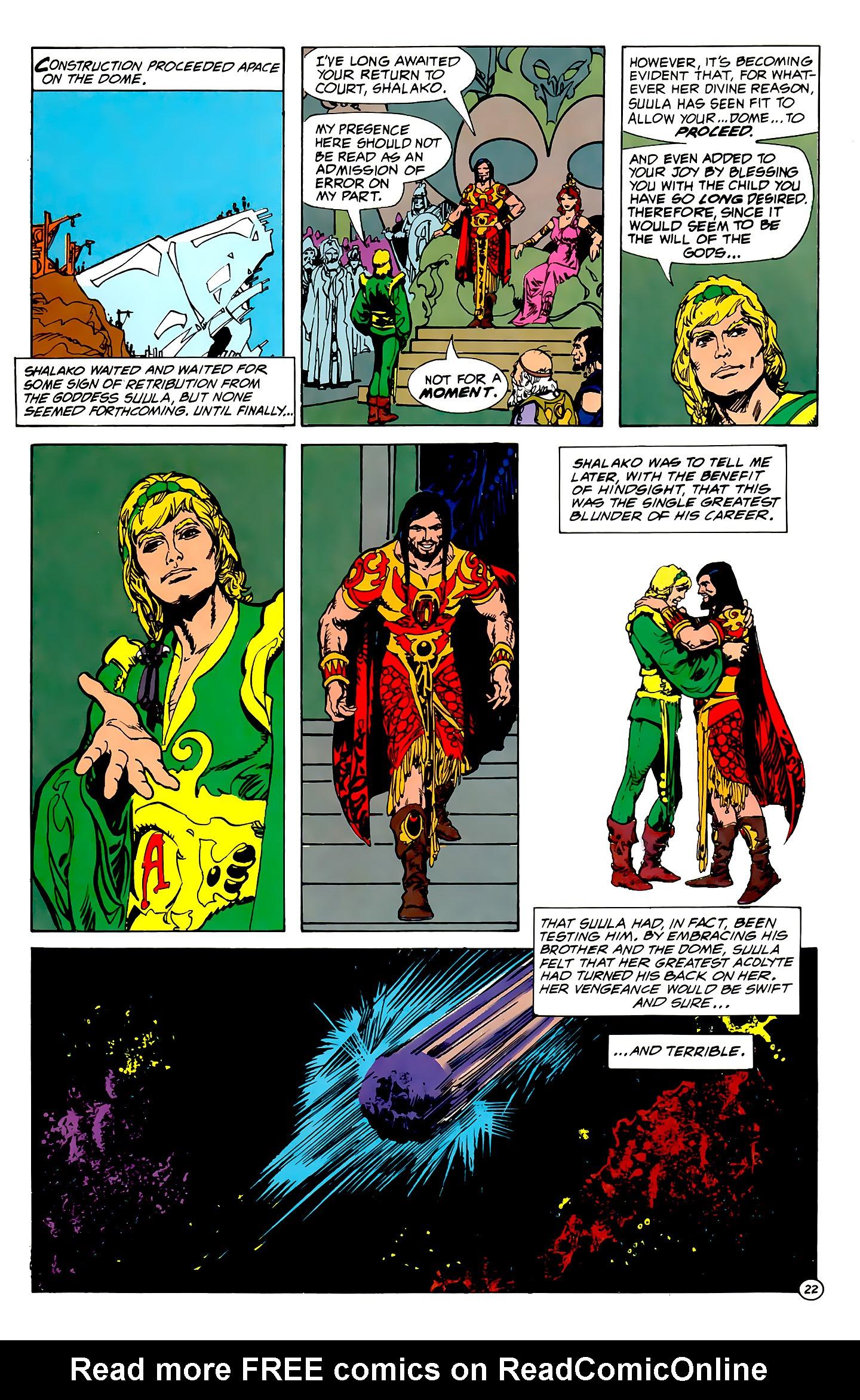 Read online Atlantis Chronicles comic -  Issue #1 - 22
