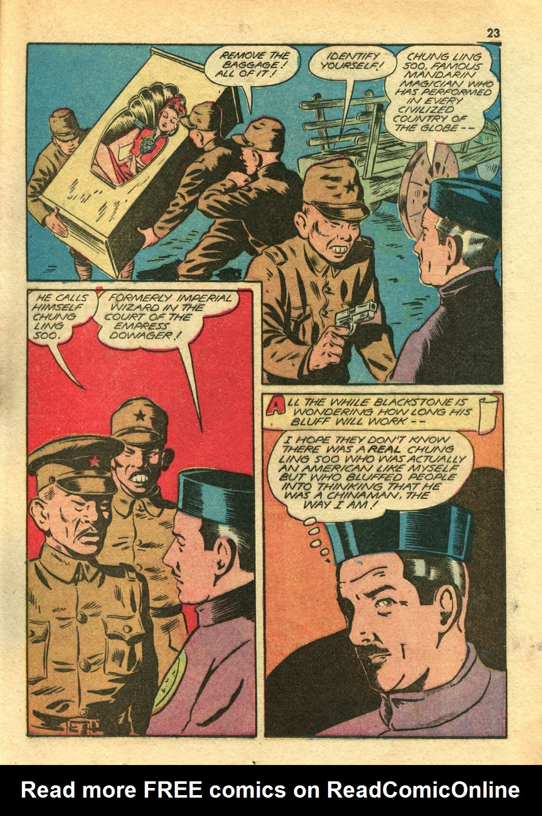 Read online Super-Magician Comics comic -  Issue #14 - 23