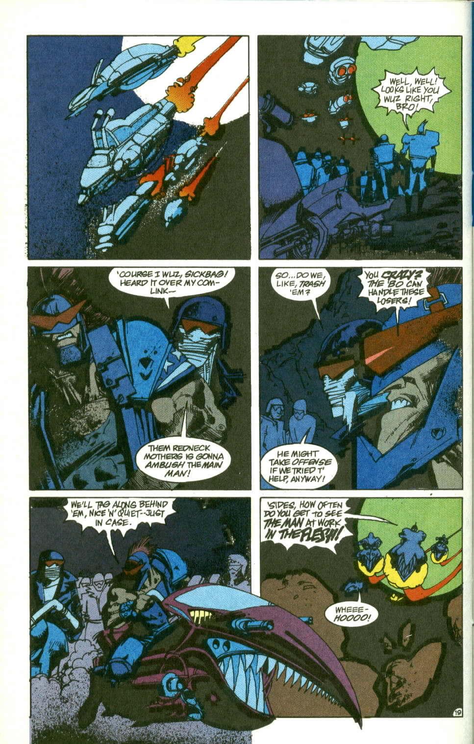 Read online Lobo (1990) comic -  Issue #2 - 20