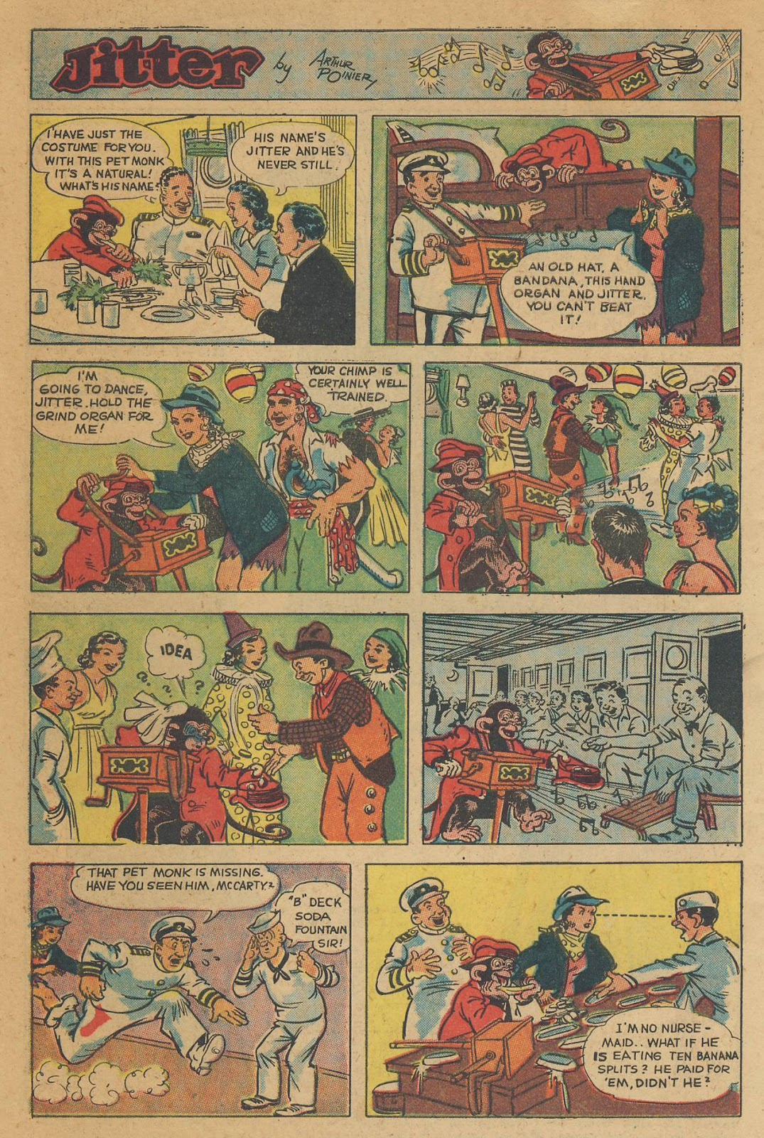Read online Famous Funnies comic -  Issue #138 - 44