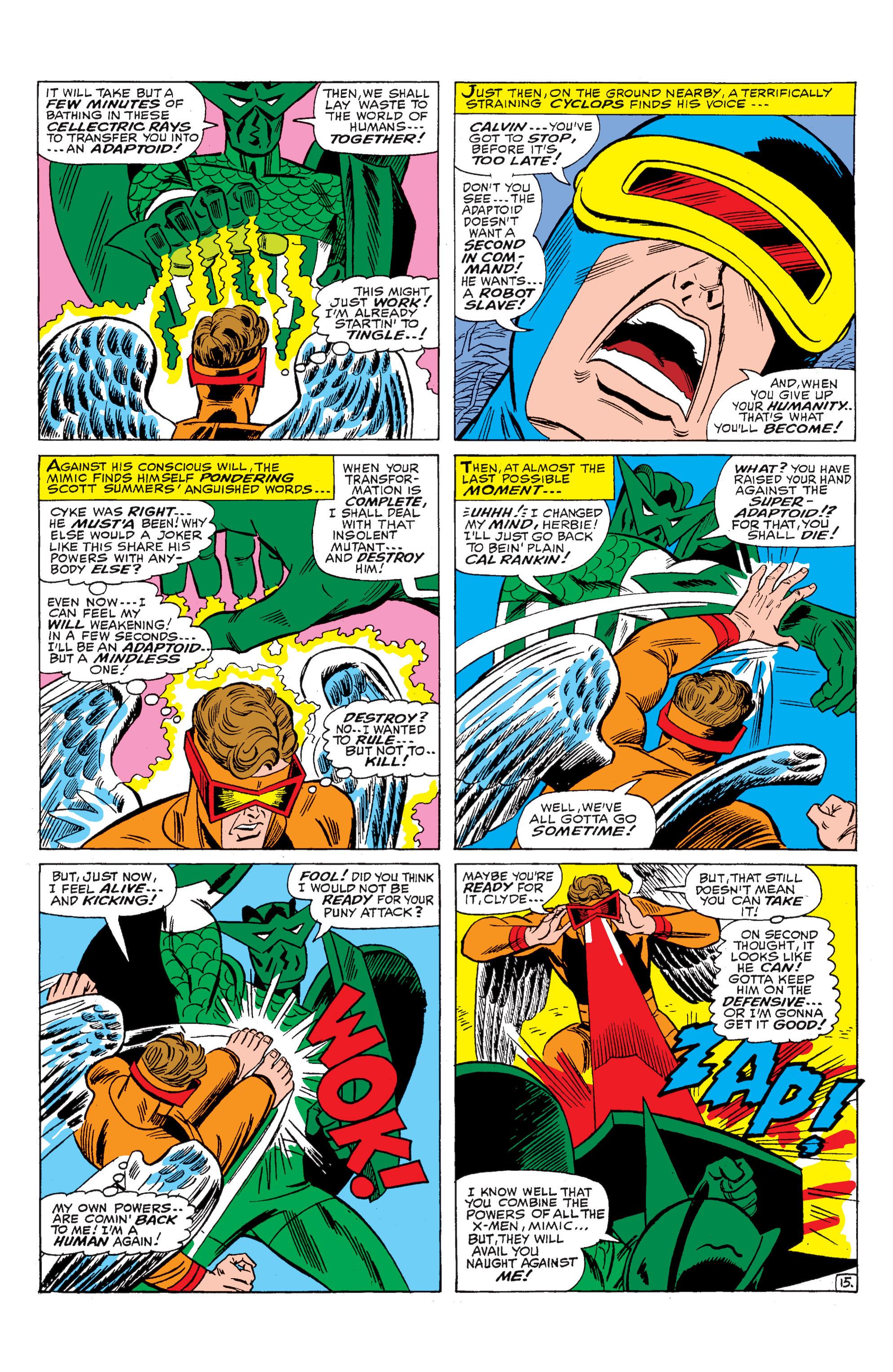 Read online Uncanny X-Men (1963) comic -  Issue #29 - 16