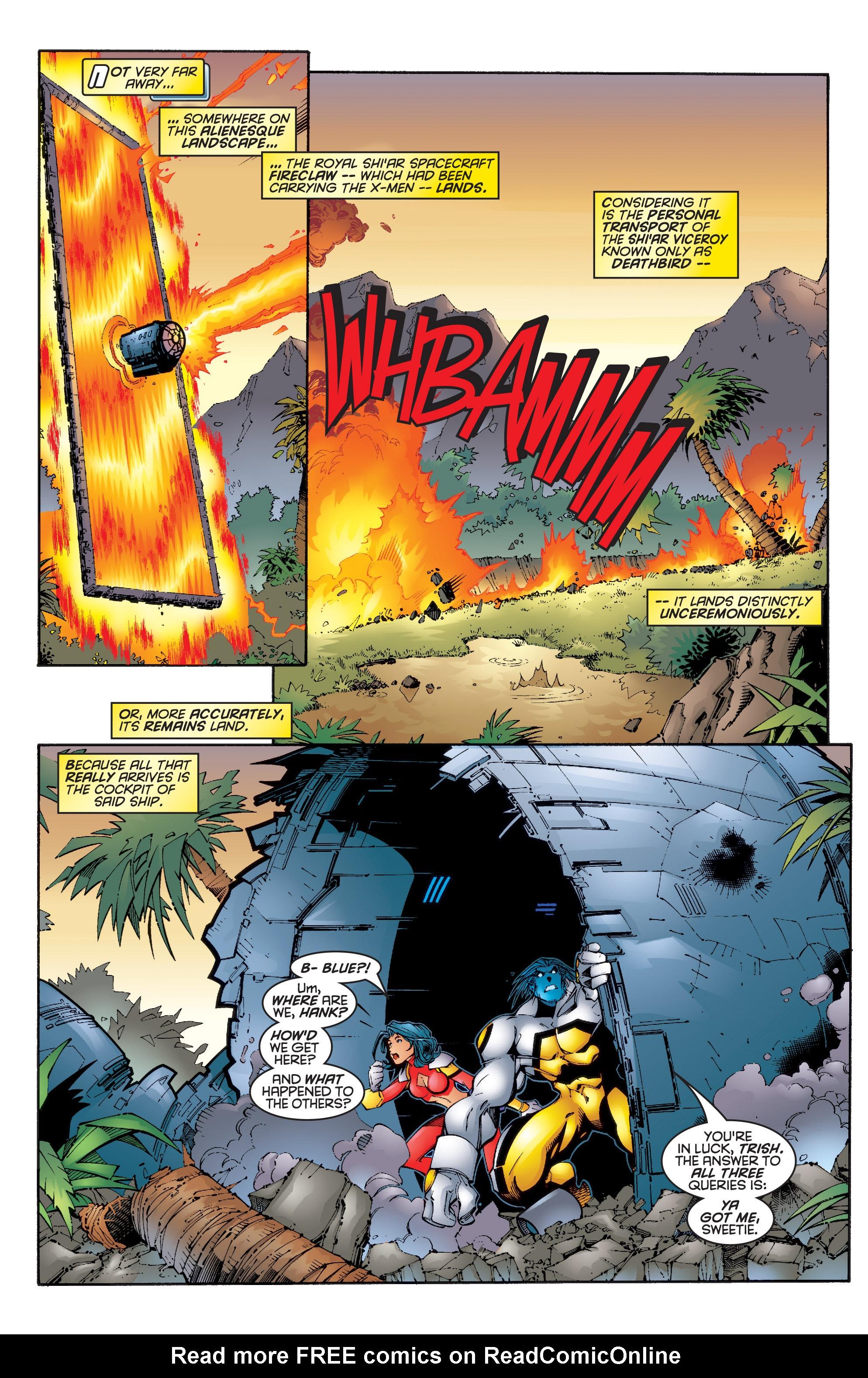 Read online Uncanny X-Men (1963) comic -  Issue #347 - 6