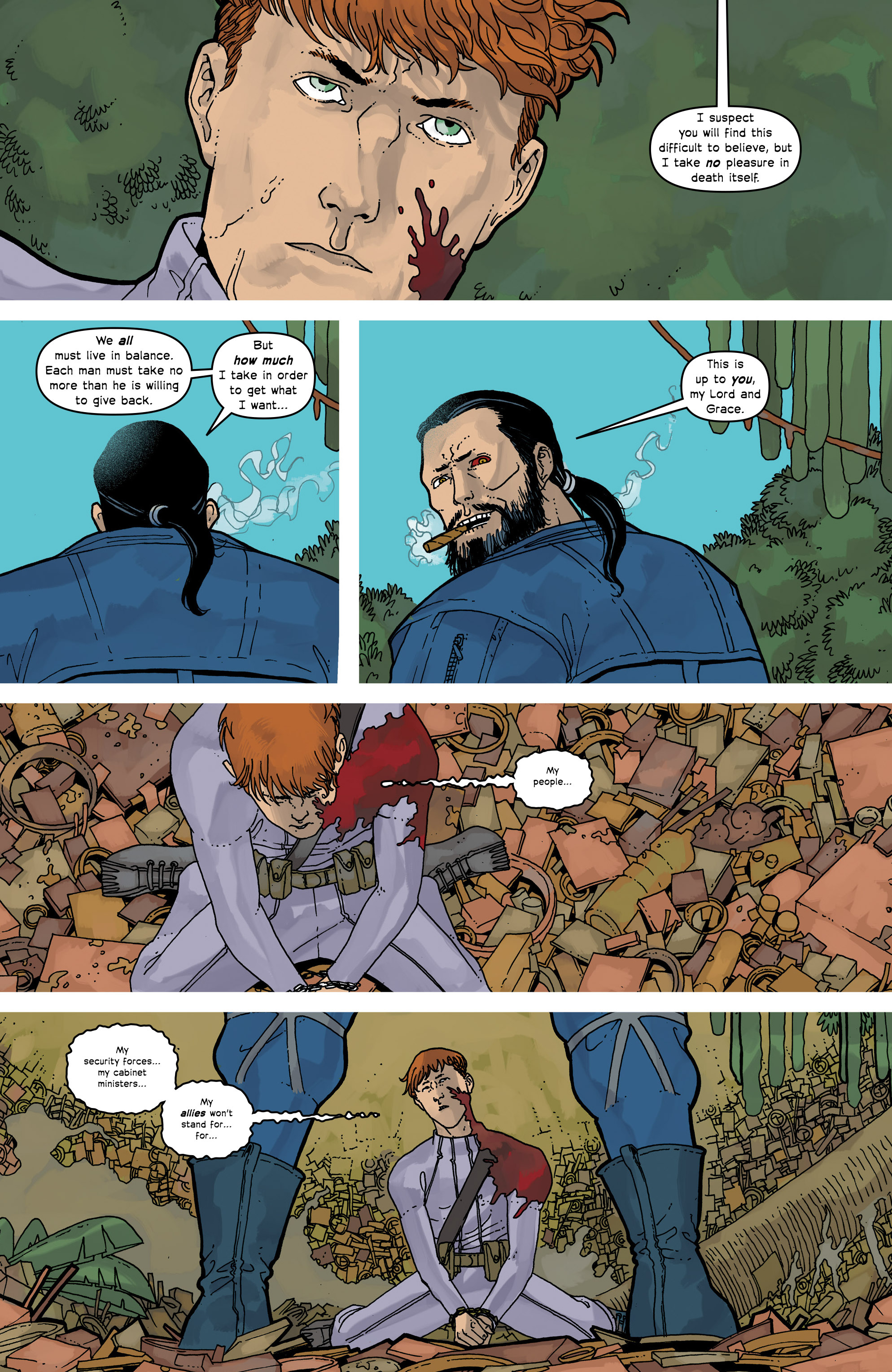Read online Great Pacific comic -  Issue #16 - 7