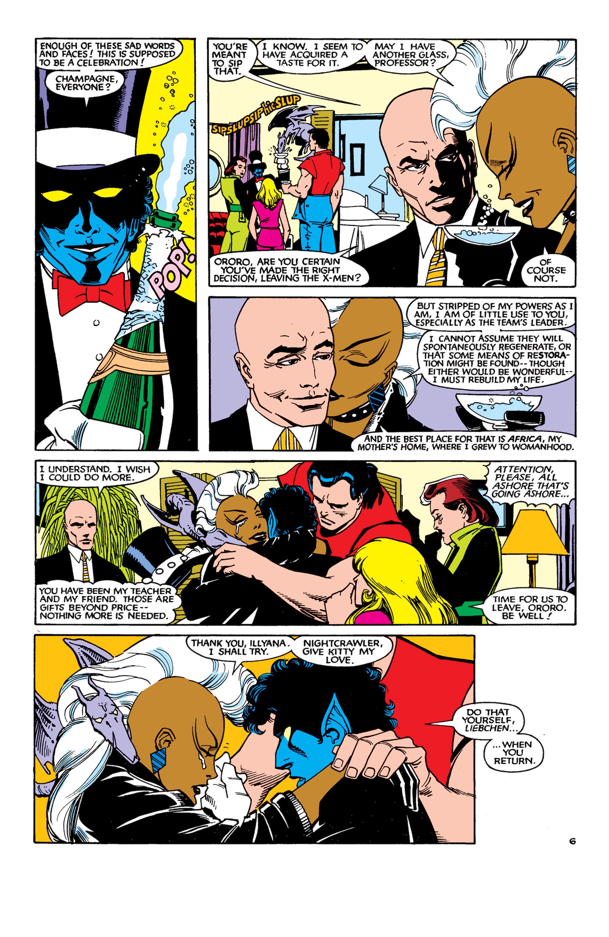 Read online Uncanny X-Men (1963) comic -  Issue #189 - 6