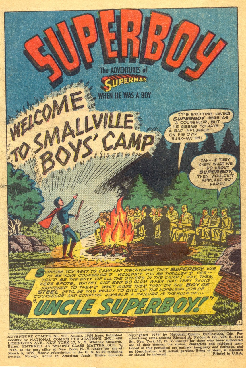 Read online Adventure Comics (1938) comic -  Issue #203 - 3
