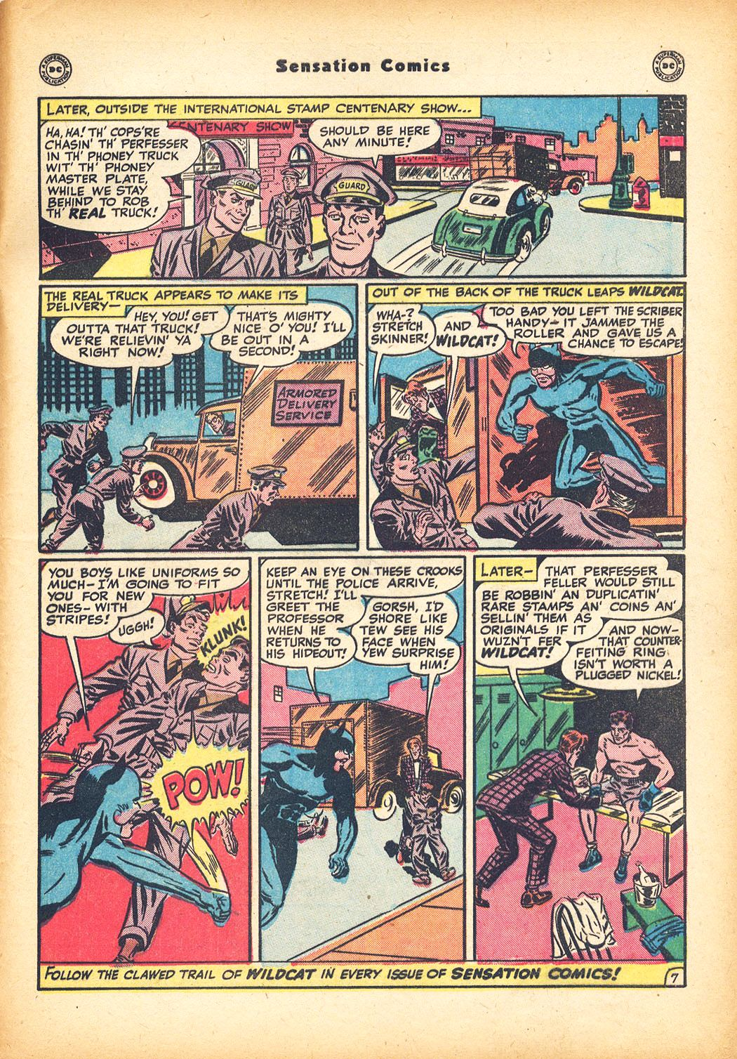 Read online Sensation (Mystery) Comics comic -  Issue #78 - 49