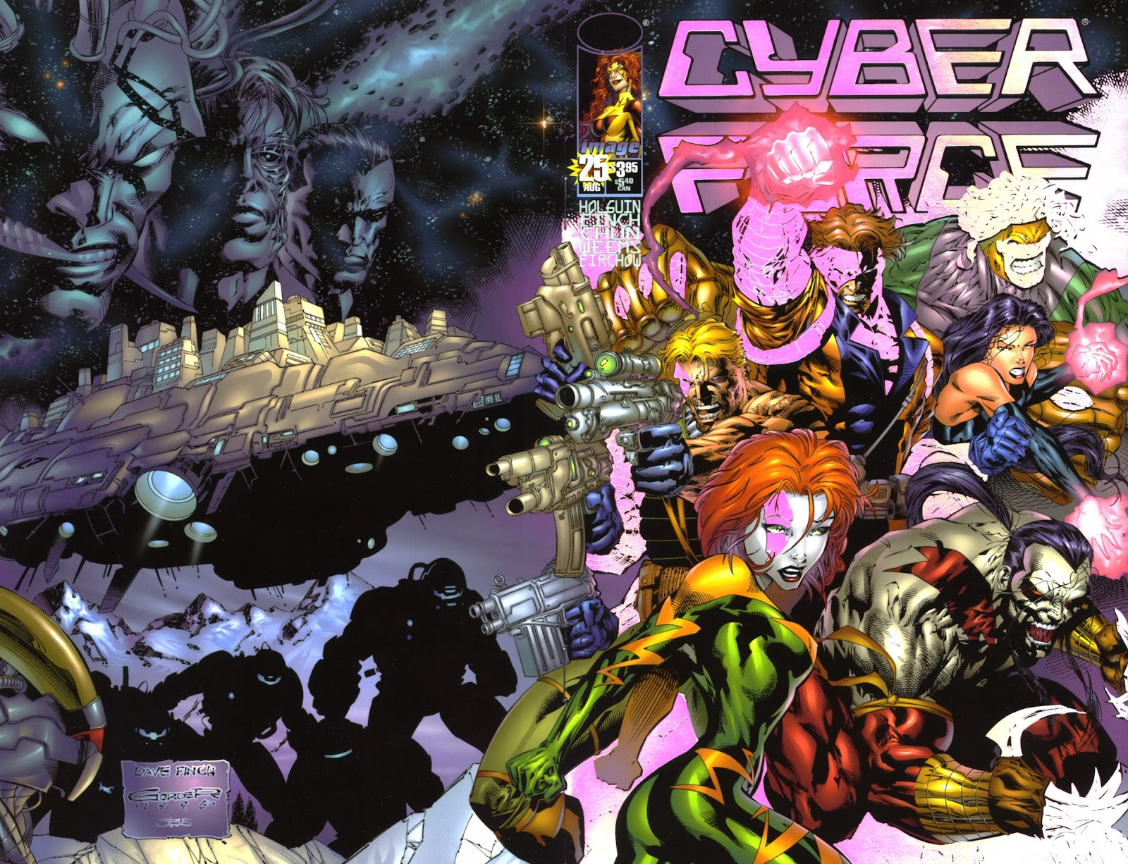 Cyberforce (1993) issue 25 - Page 1