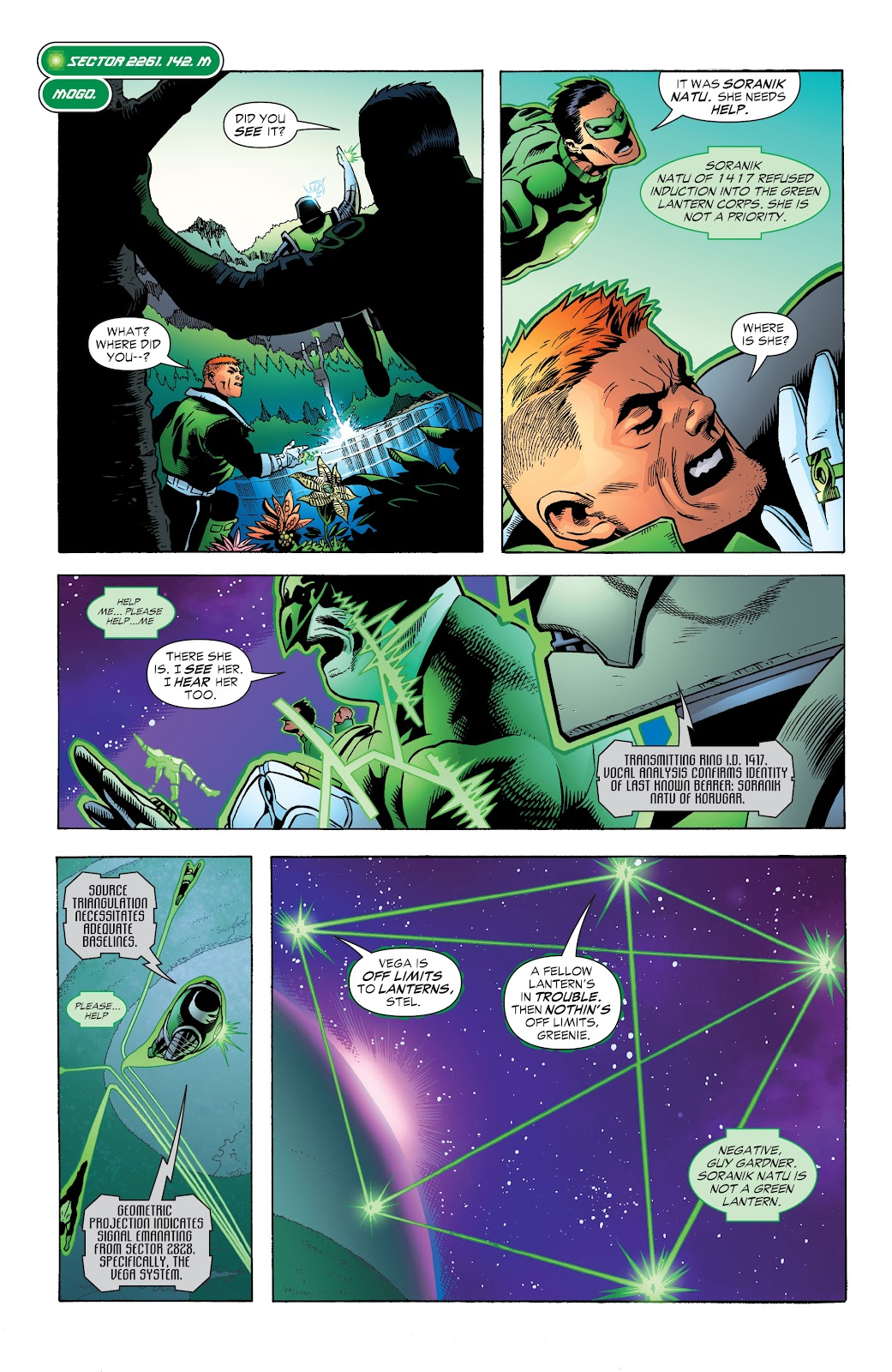 Read online Green Lantern by Geoff Johns comic -  Issue # TPB 1 (Part 3) - 25
