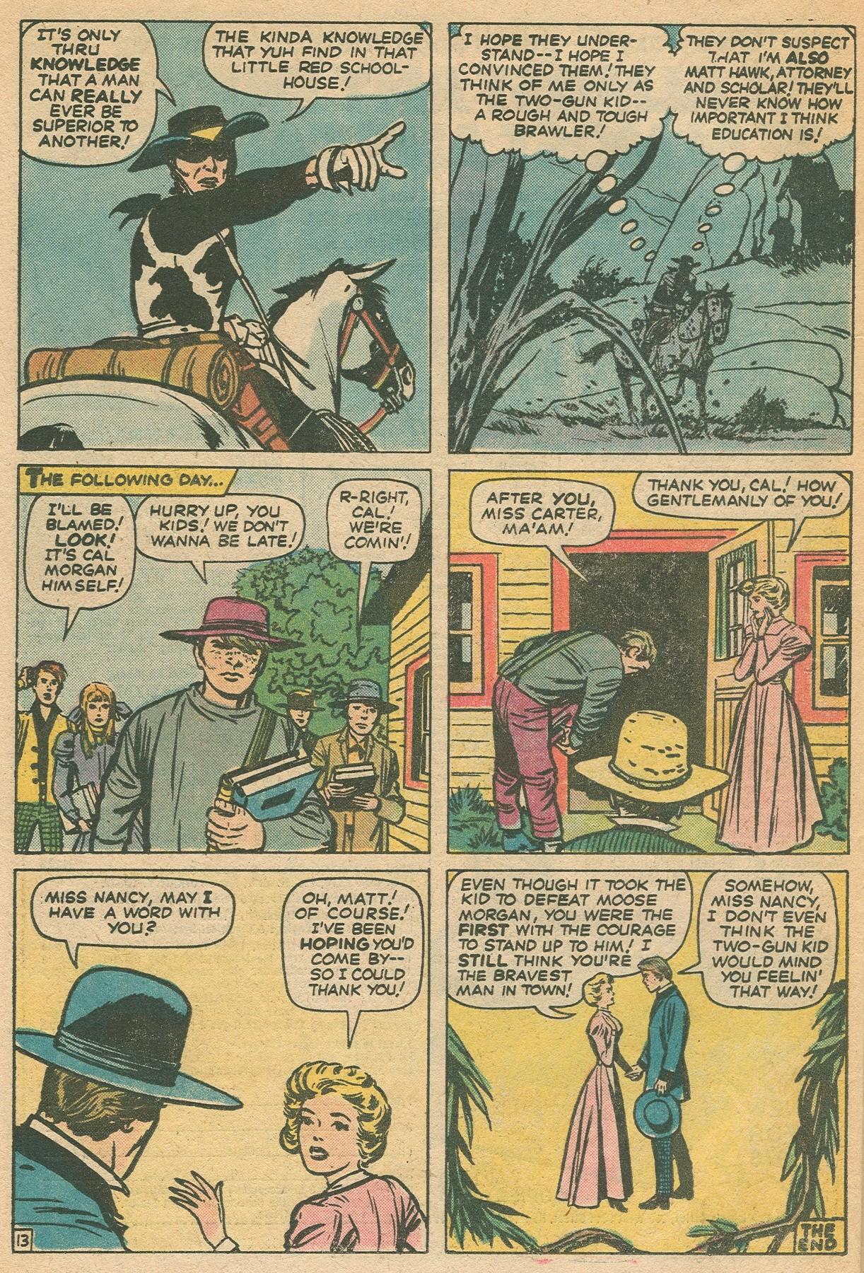 Read online Two-Gun Kid comic -  Issue #130 - 24