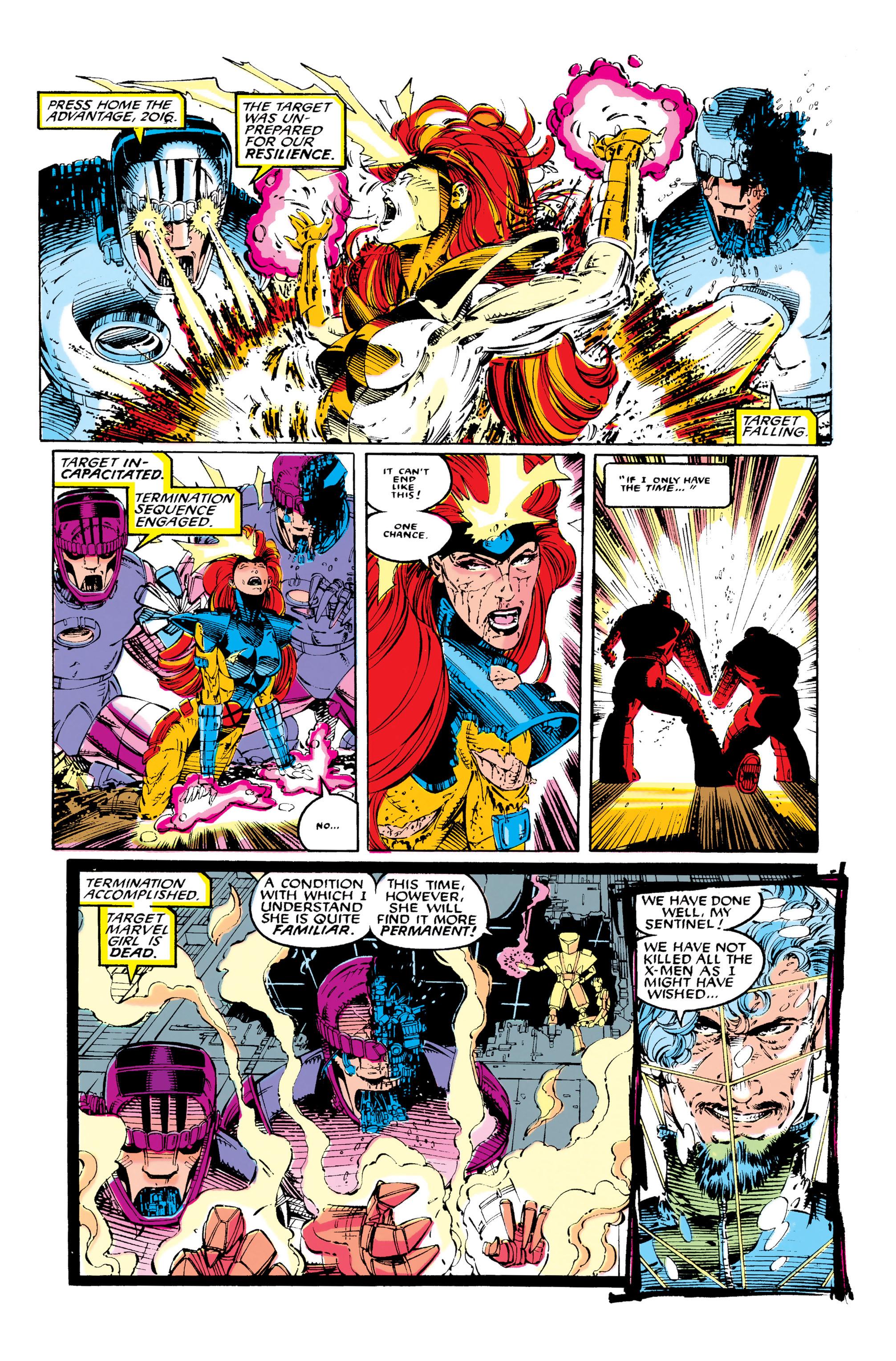 Read online Uncanny X-Men (1963) comic -  Issue #281 - 22