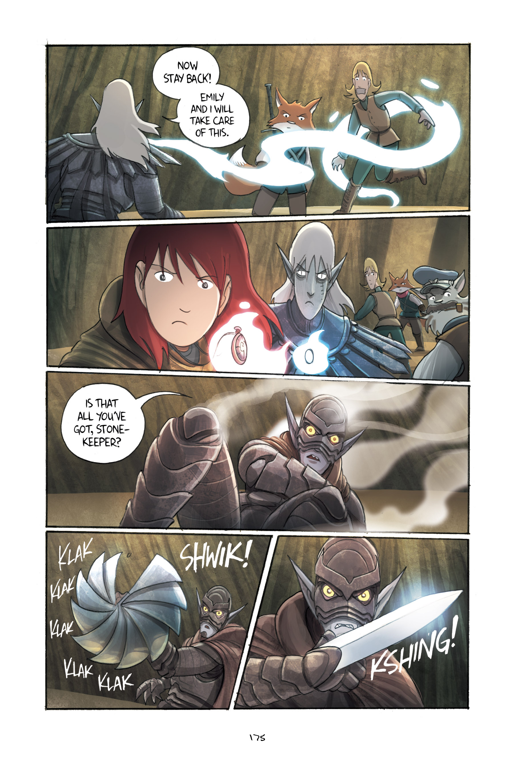Read online Amulet comic -  Issue #3 - 171