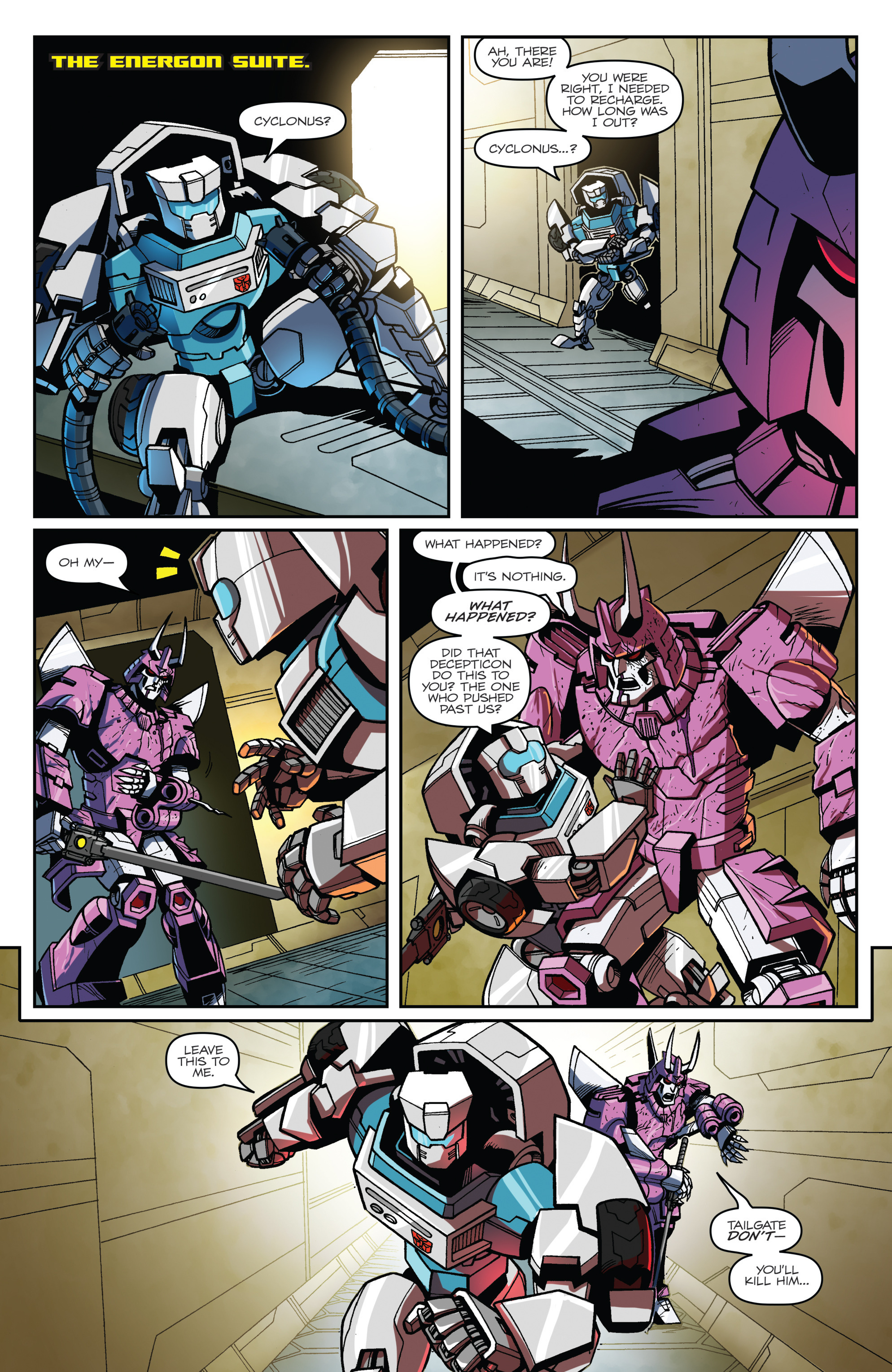 Read online Transformers: Lost Light comic -  Issue #1 - 17