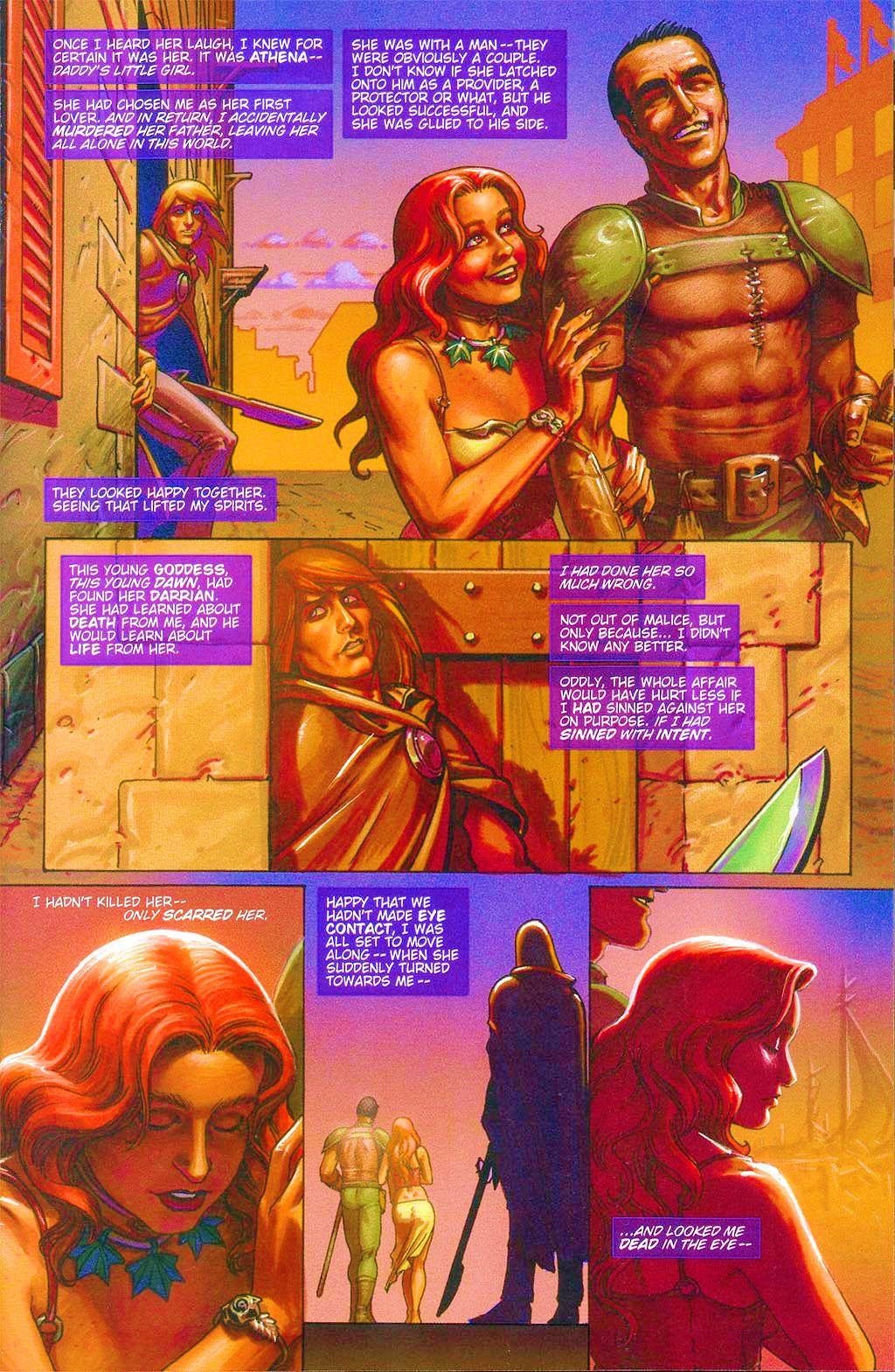 Read online Dawn: Three Tiers comic -  Issue #6 - 5