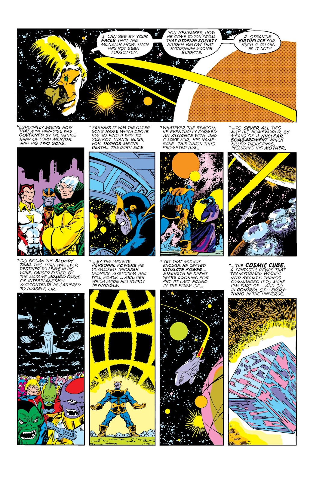 Warlock by Jim Starlin issue 3 - Page 1