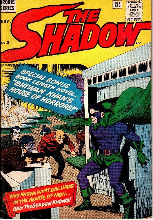 The Shadow (1964) 3 Page 1