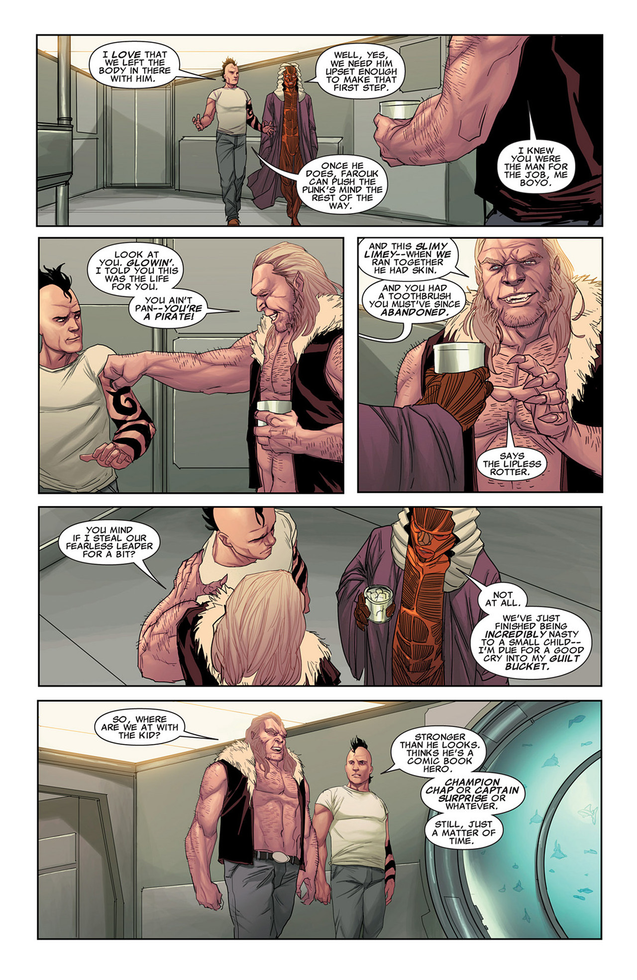 Read online Uncanny X-Force (2010) comic -  Issue #31 - 13