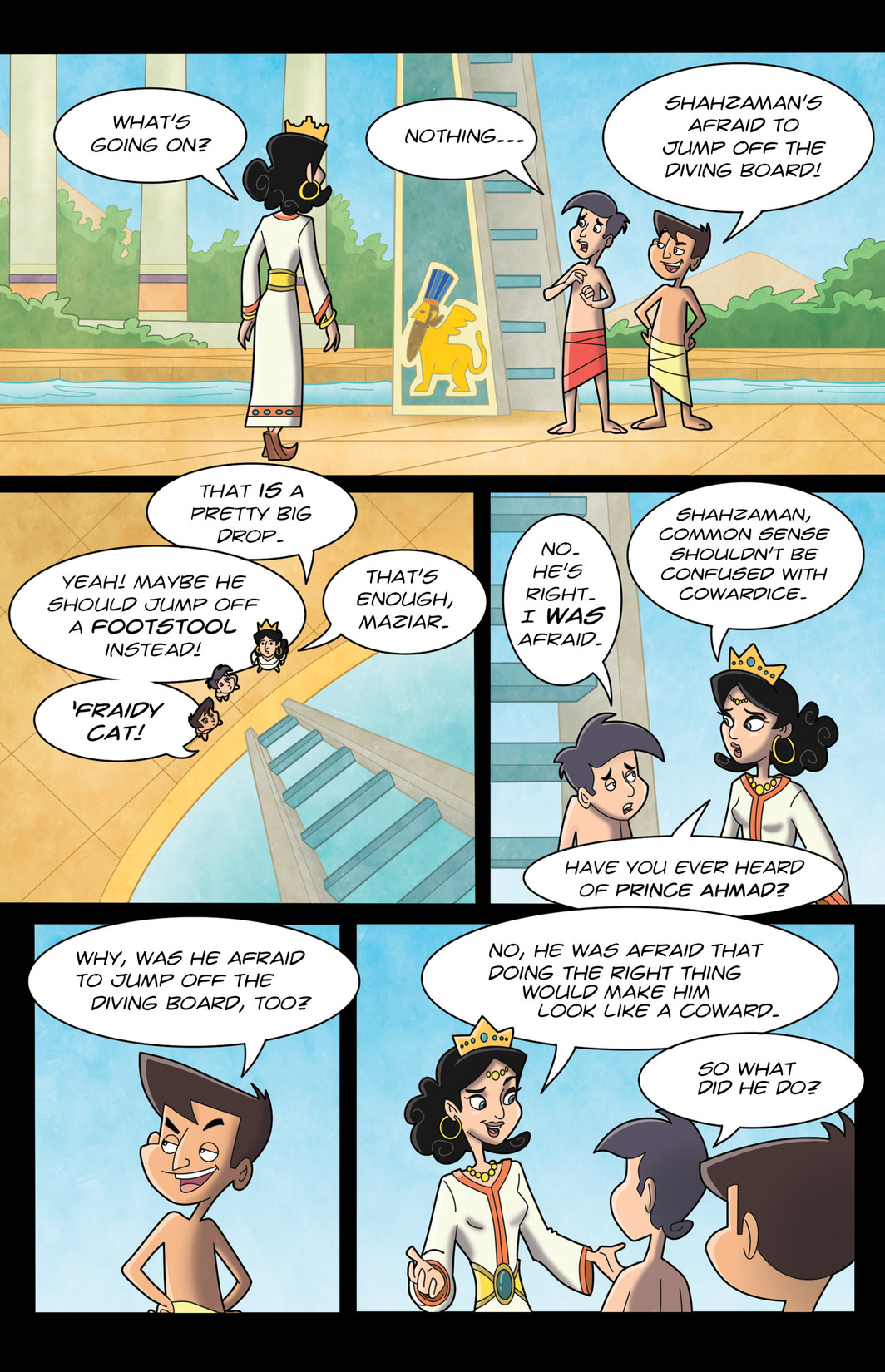 Read online 1001 Nights comic -  Issue #7 - 6