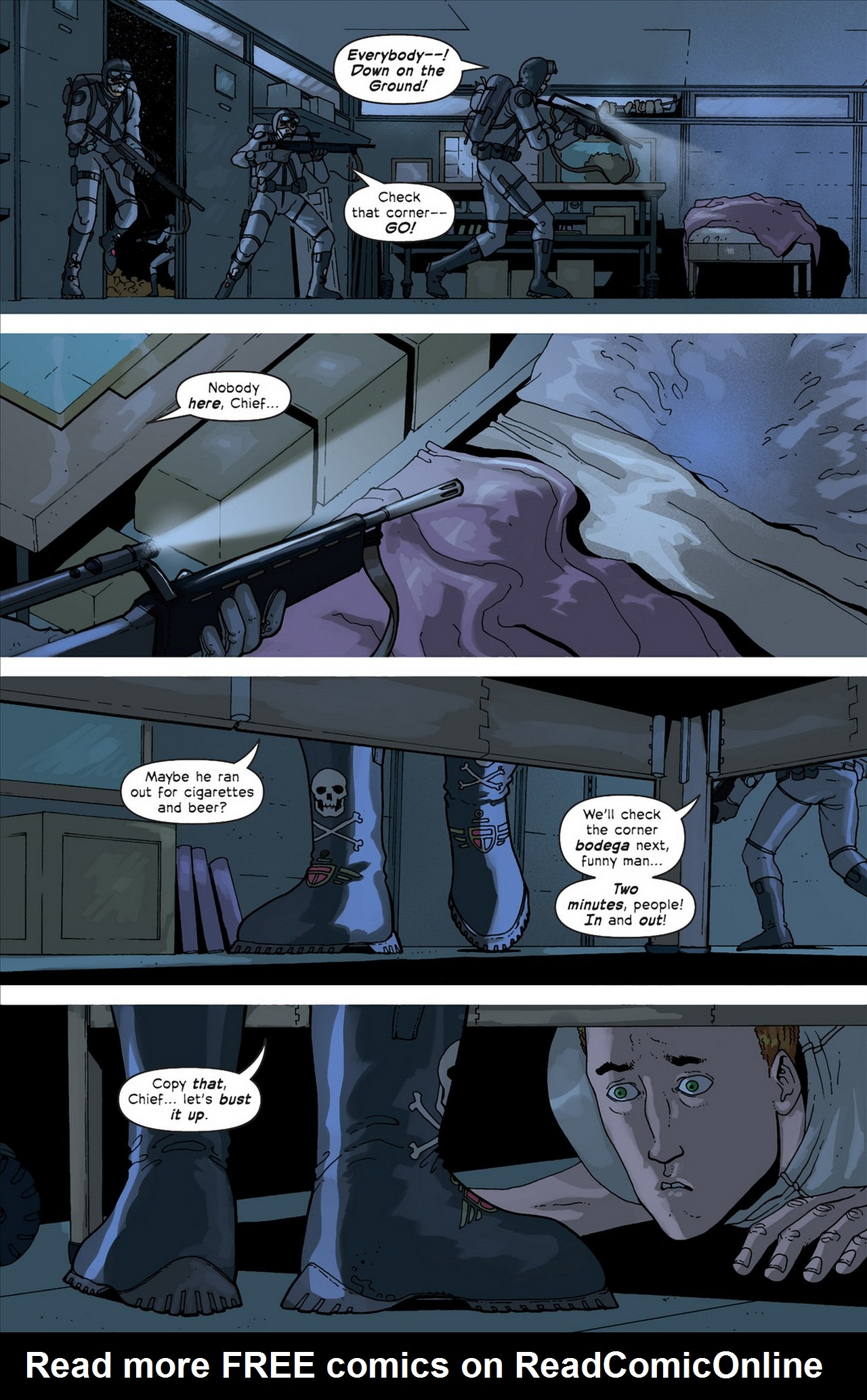 Read online Great Pacific comic -  Issue #4 - 13