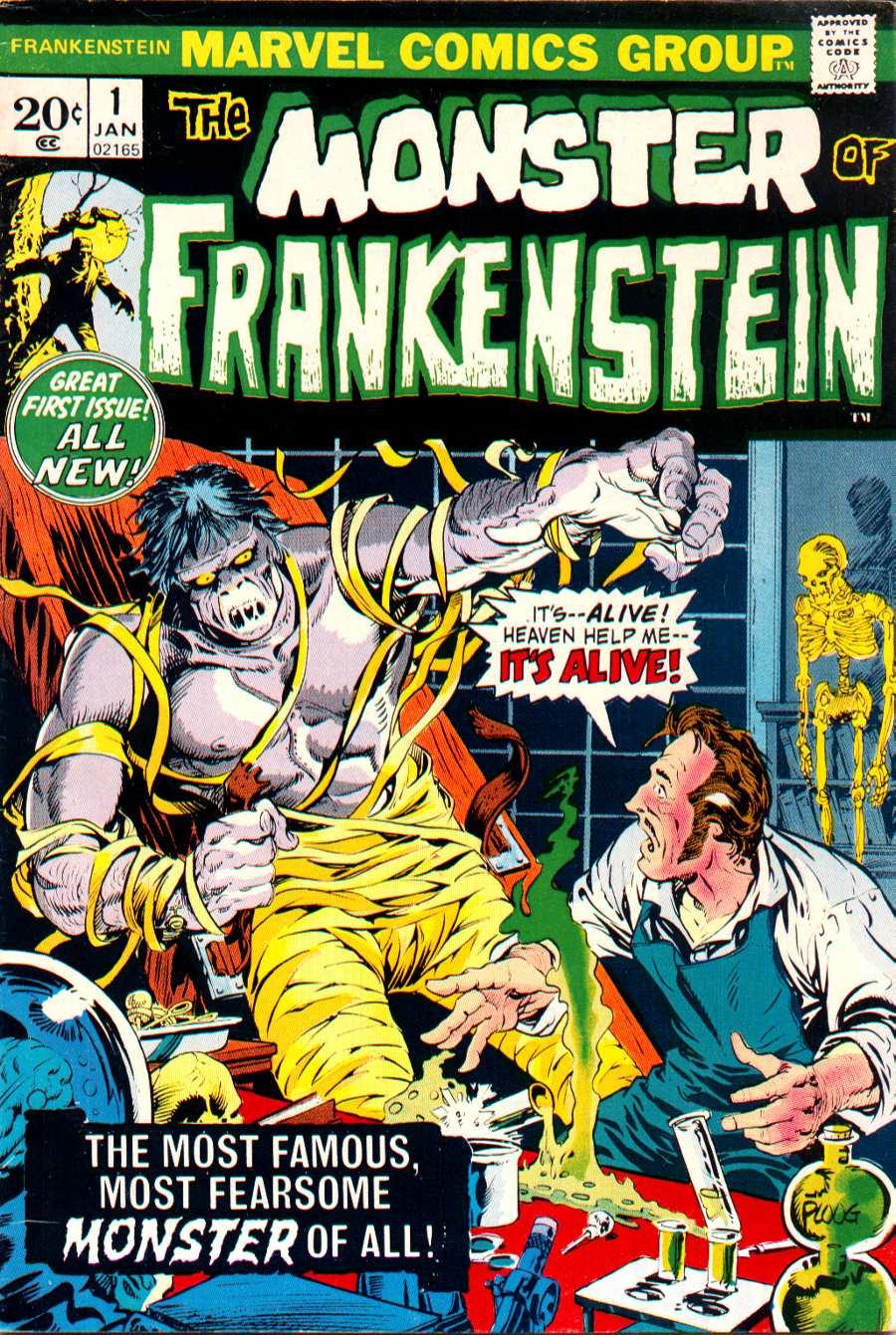 Frankenstein (1973) issue 1 - Page 1