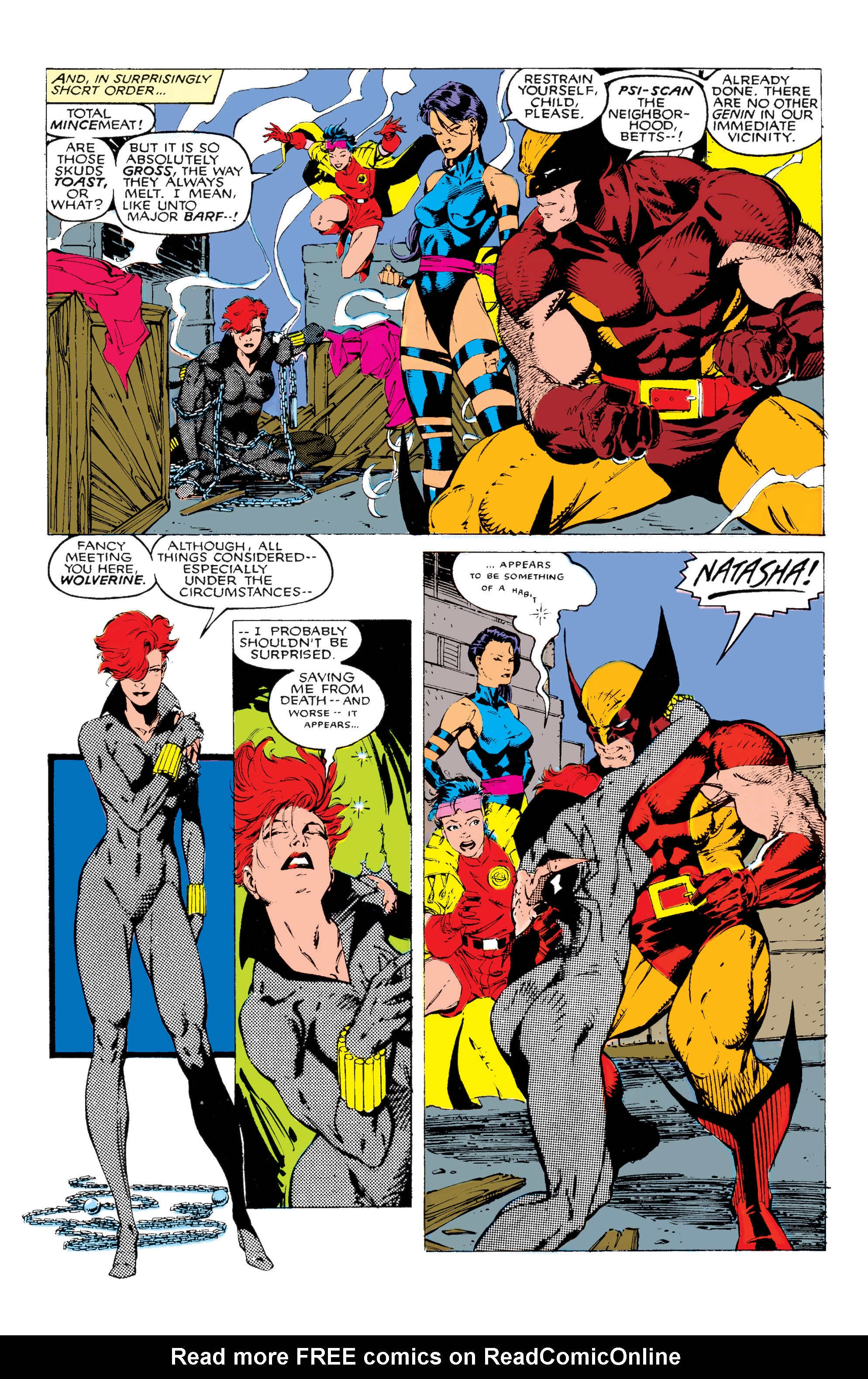 Read online Uncanny X-Men (1963) comic -  Issue #268 - 8