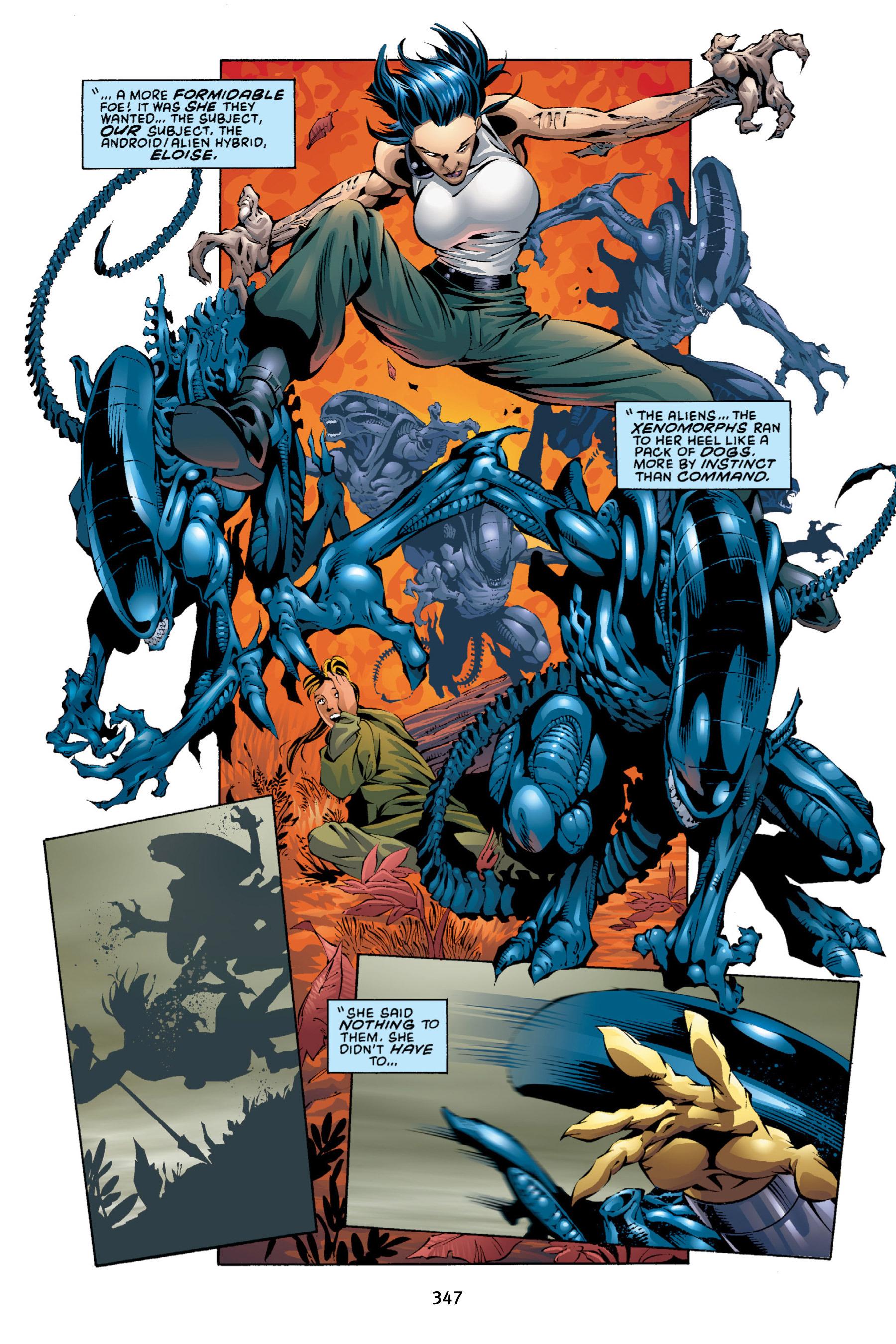 Read online Aliens vs. Predator Omnibus comic -  Issue # _TPB 2 Part 4 - 12