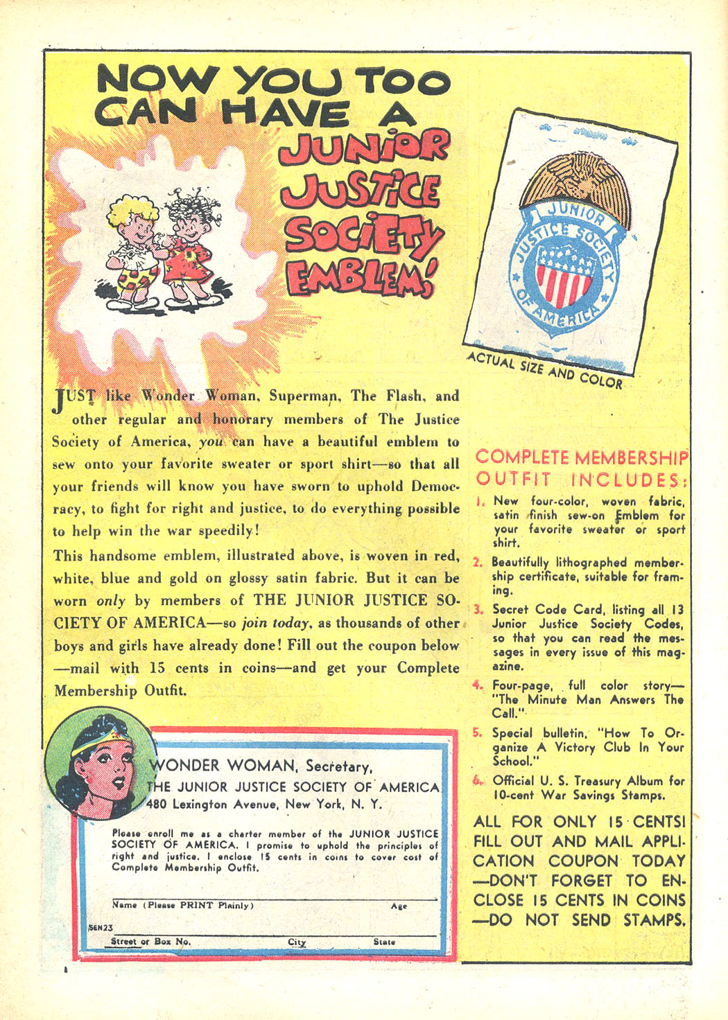 Read online Sensation (Mystery) Comics comic -  Issue #23 - 16