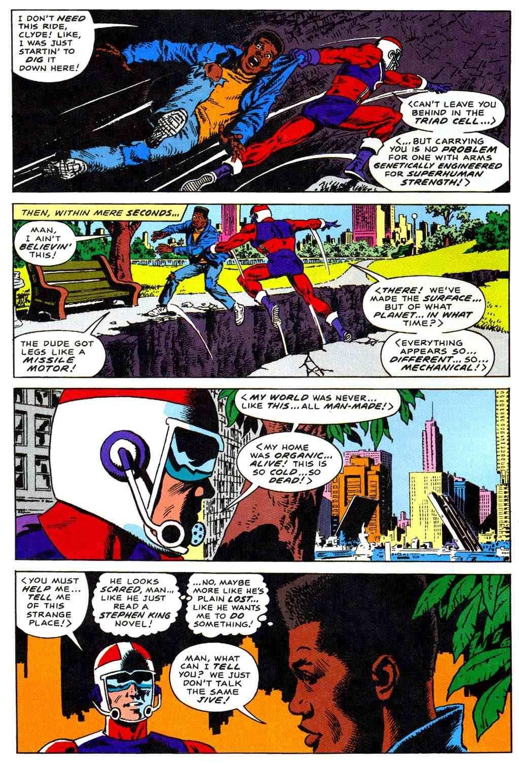 Read online Bombast comic -  Issue # Full - 8