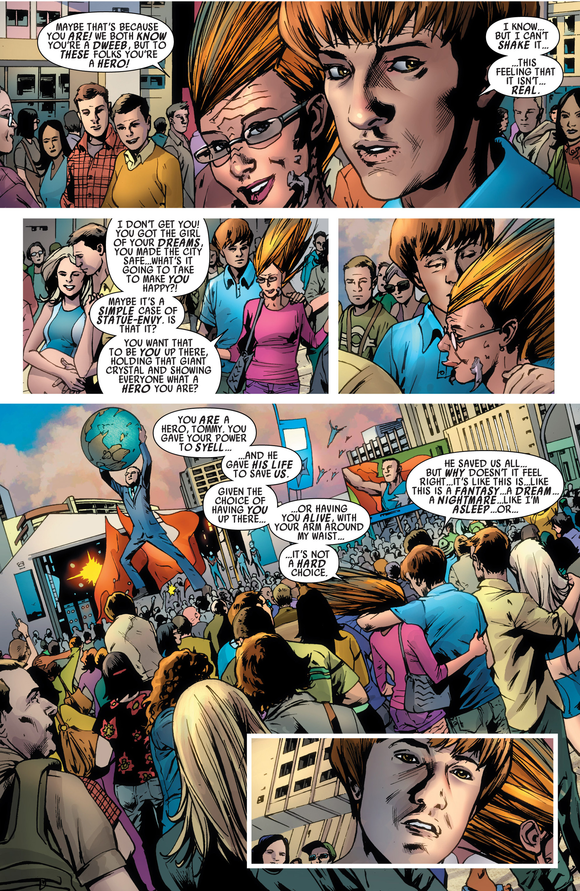 Read online America's Got Powers comic -  Issue #6 - 5