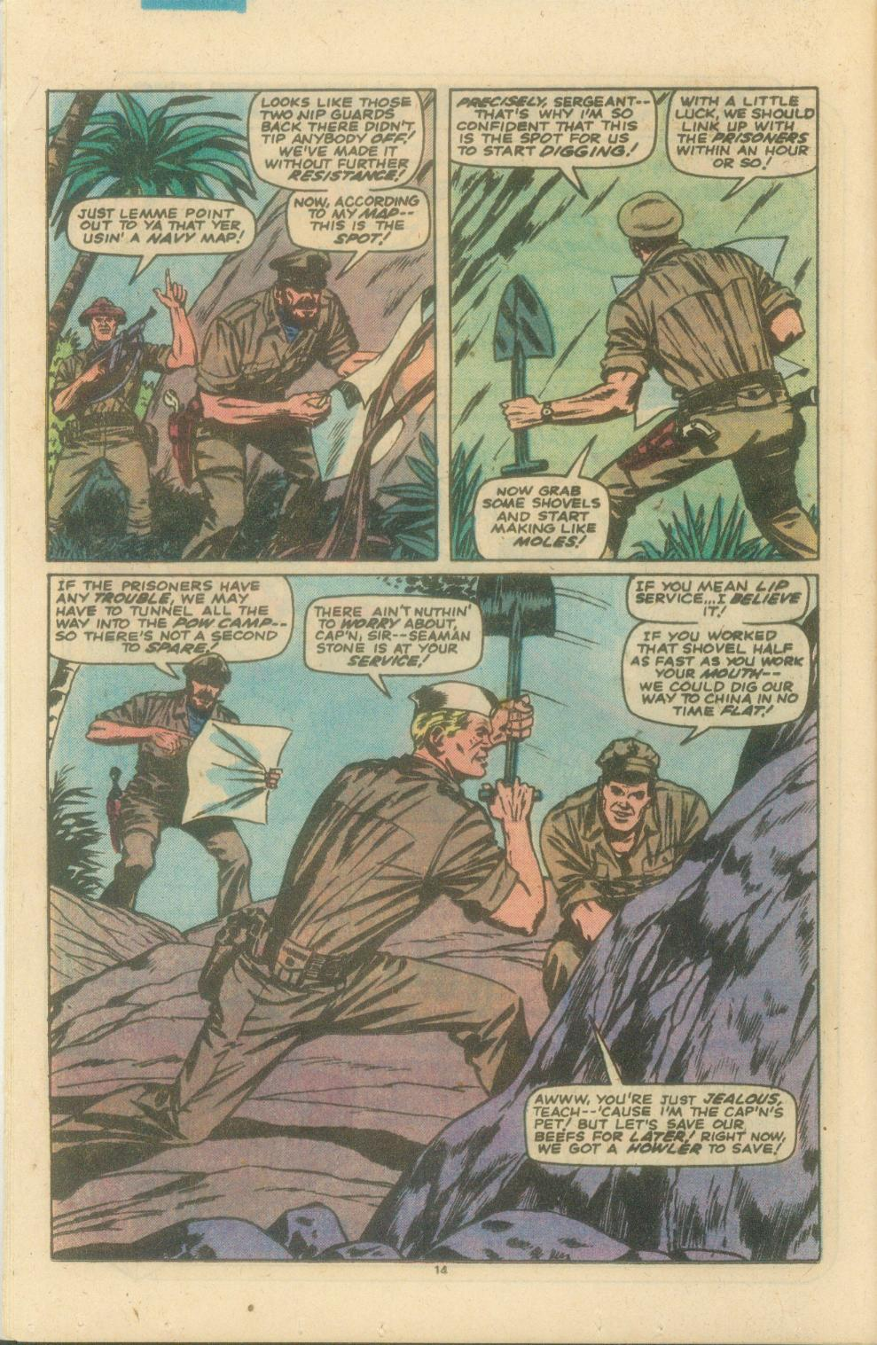 Read online Sgt. Fury comic -  Issue #154 - 16