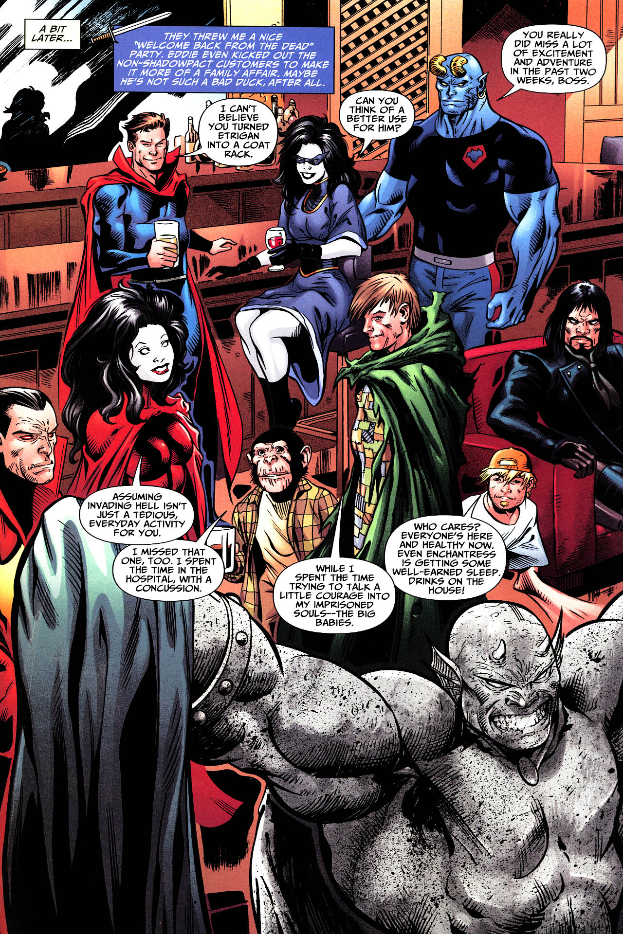Read online Shadowpact comic -  Issue #12 - 22