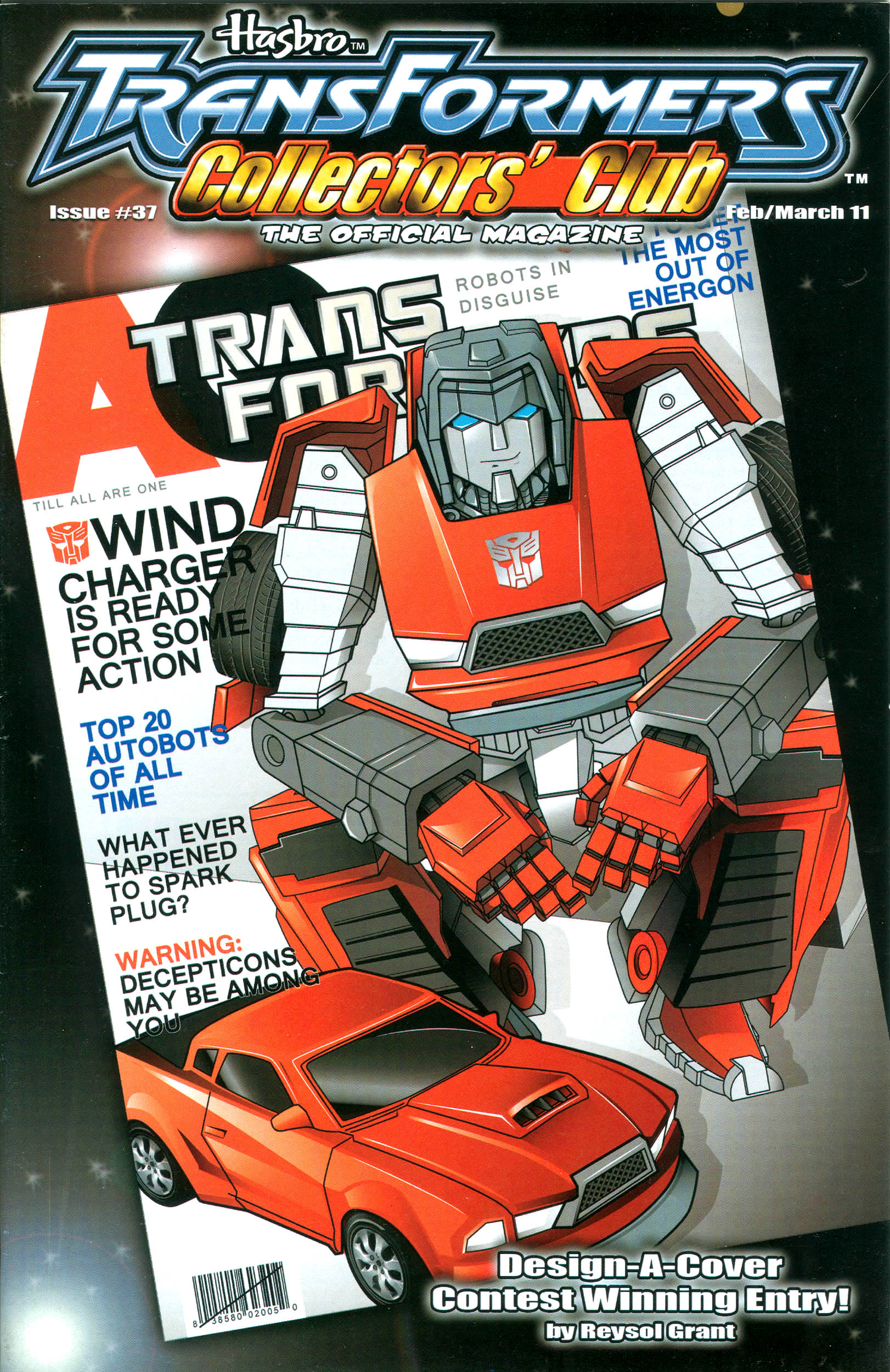 Read online Transformers: Collectors' Club comic -  Issue #37 - 1